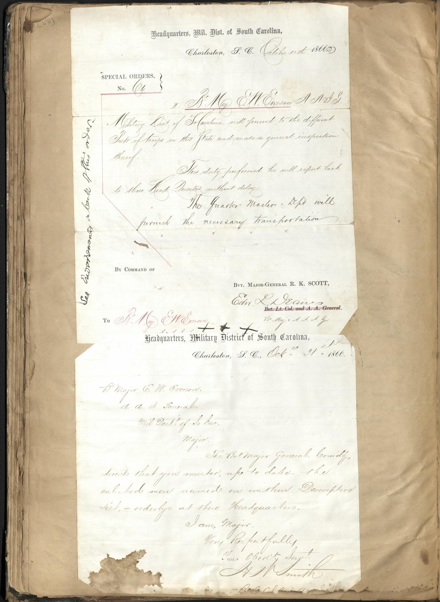 Erastus Everson Diary 1861-1893, page 62