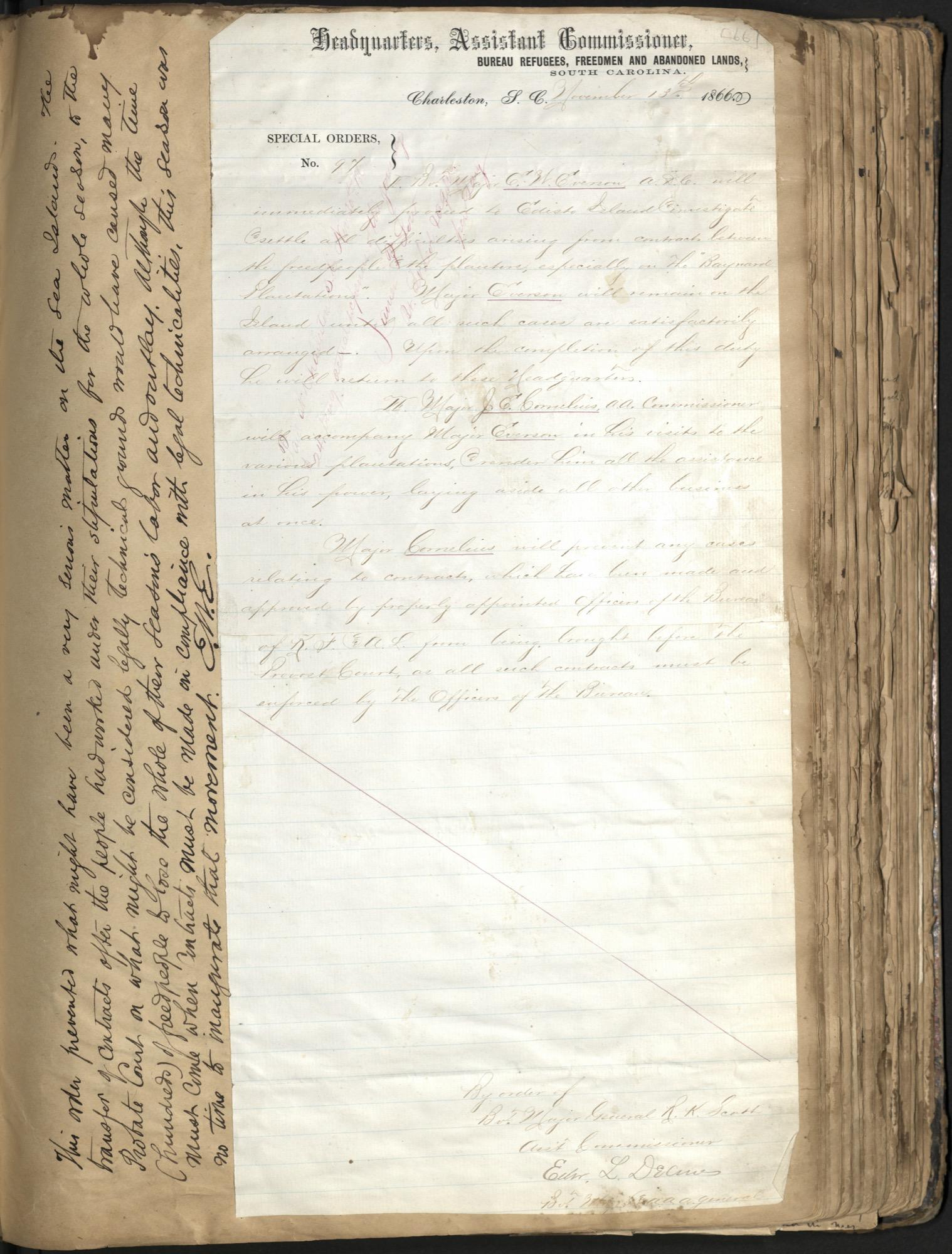 Erastus Everson Diary 1861-1893, page 65