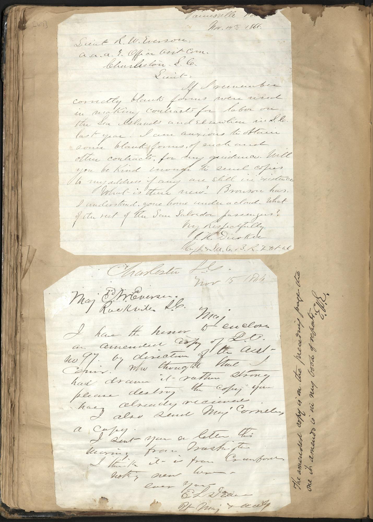 Erastus Everson Diary 1861-1893, page 66