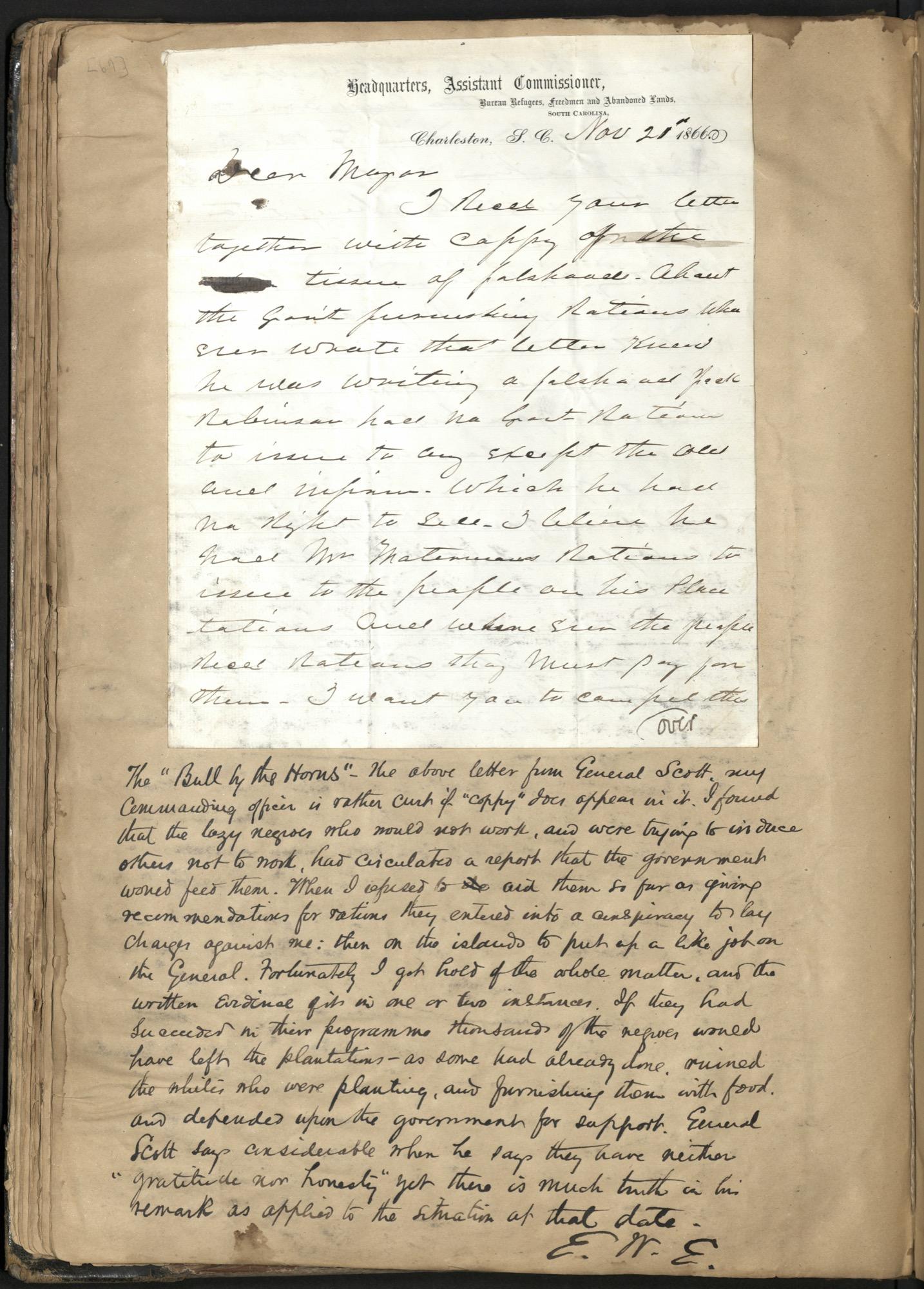 Erastus Everson Diary 1861-1893, page 68
