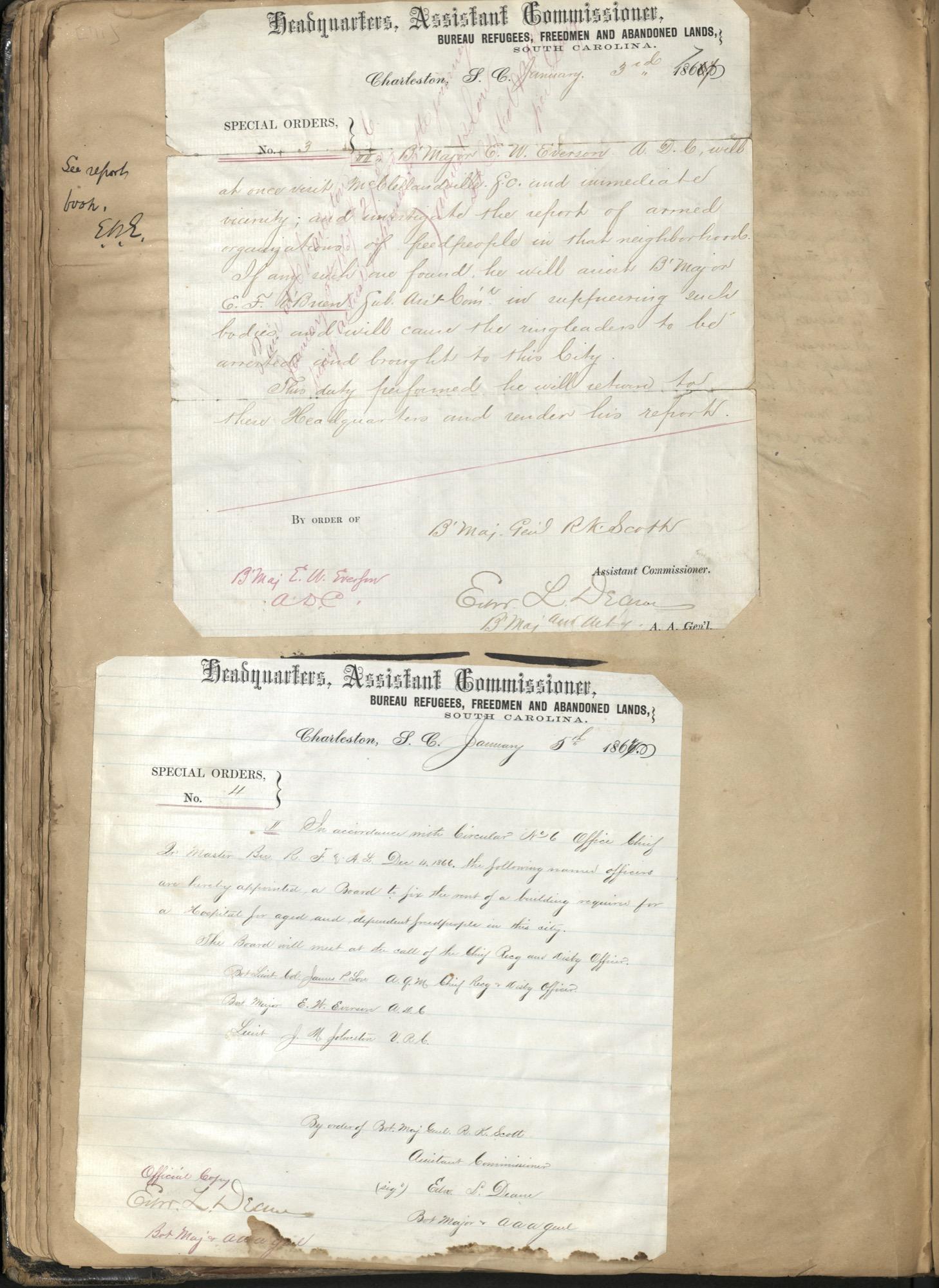 Erastus Everson Diary 1861-1893, page 70