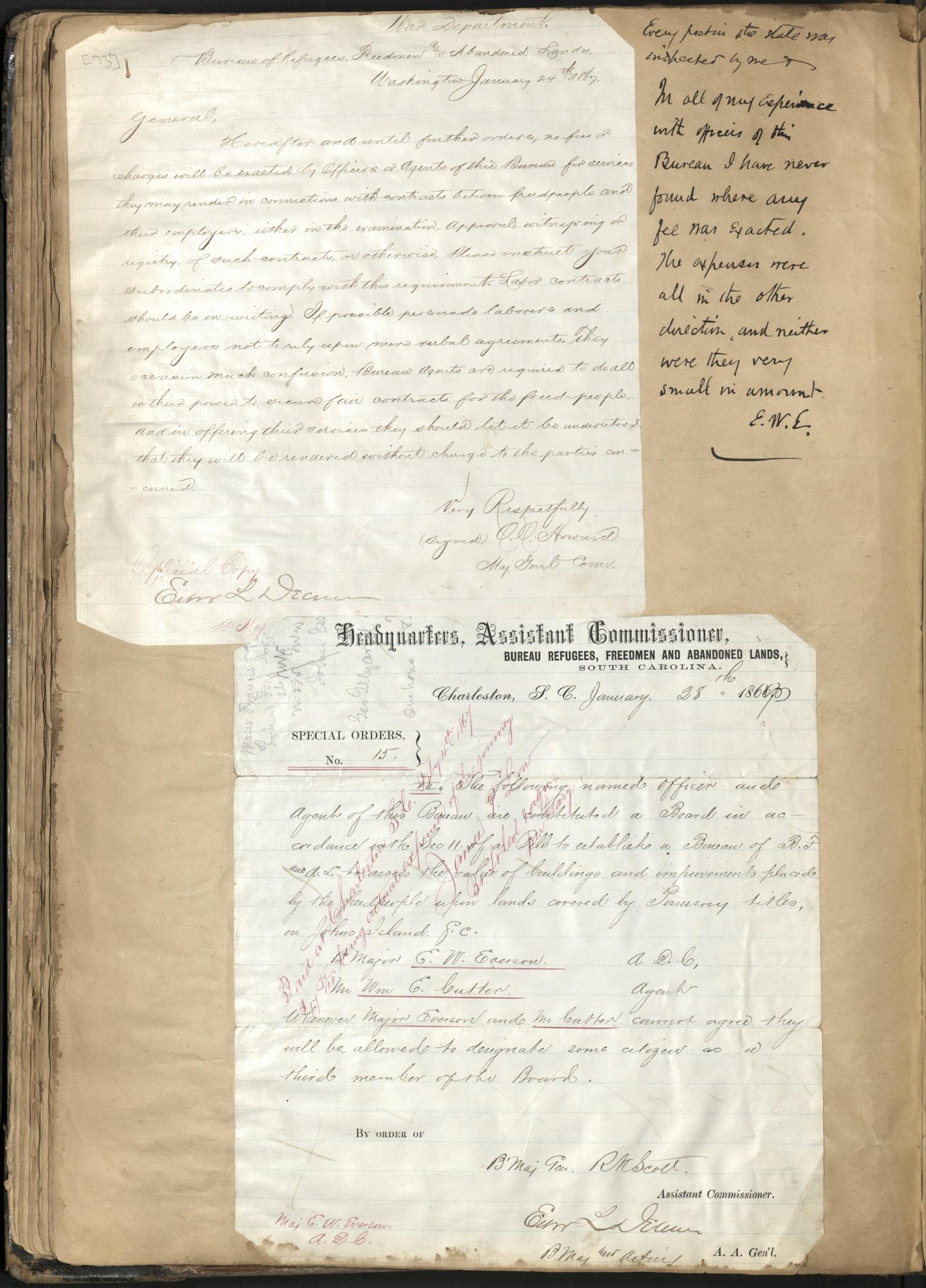 Erastus Everson Diary 1861-1893, page 72