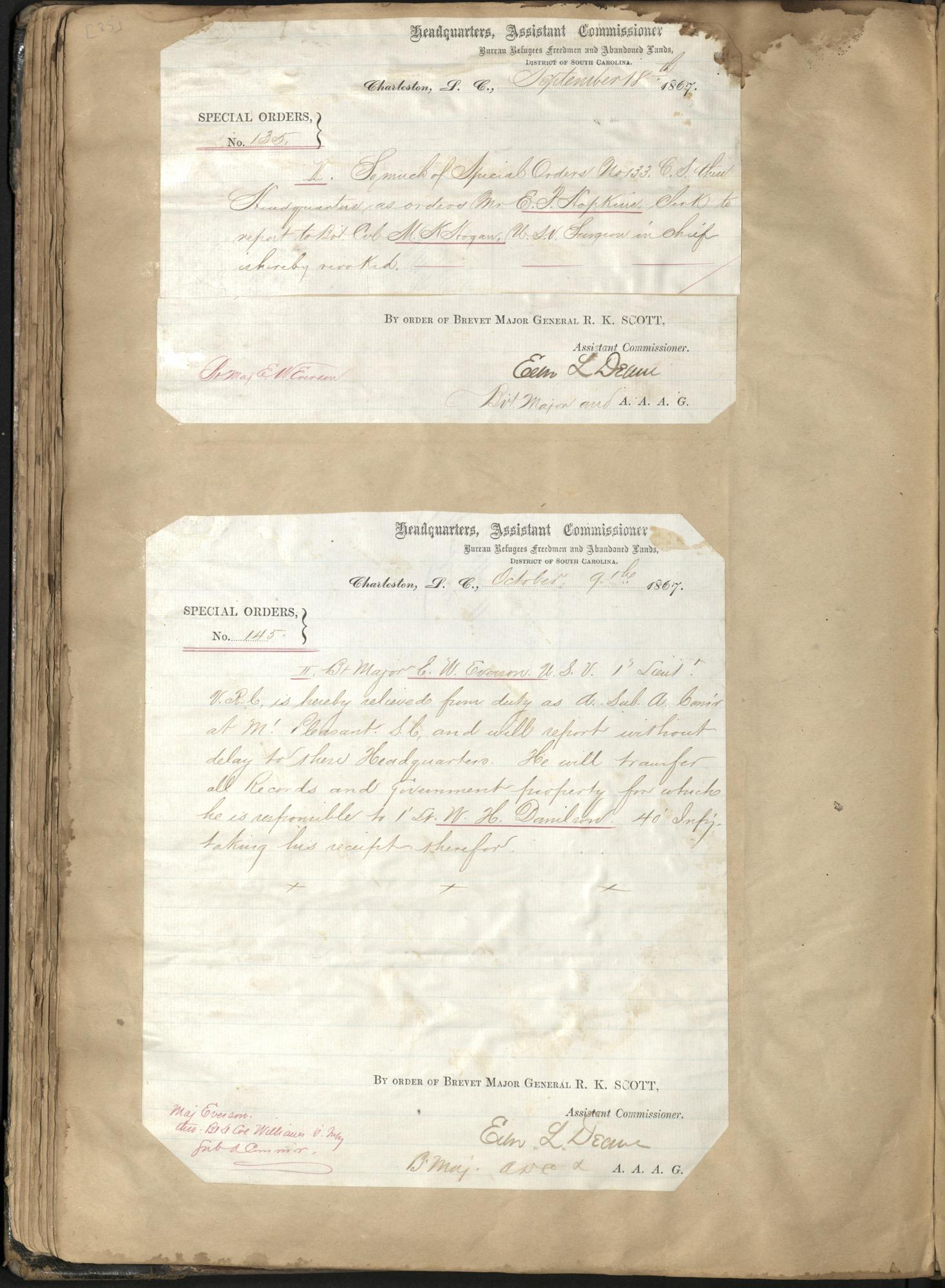 Erastus Everson Diary 1861-1893, page 84
