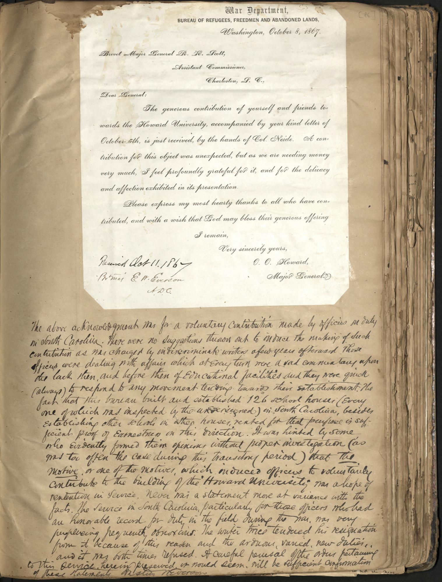 Erastus Everson Diary 1861-1893, page 85