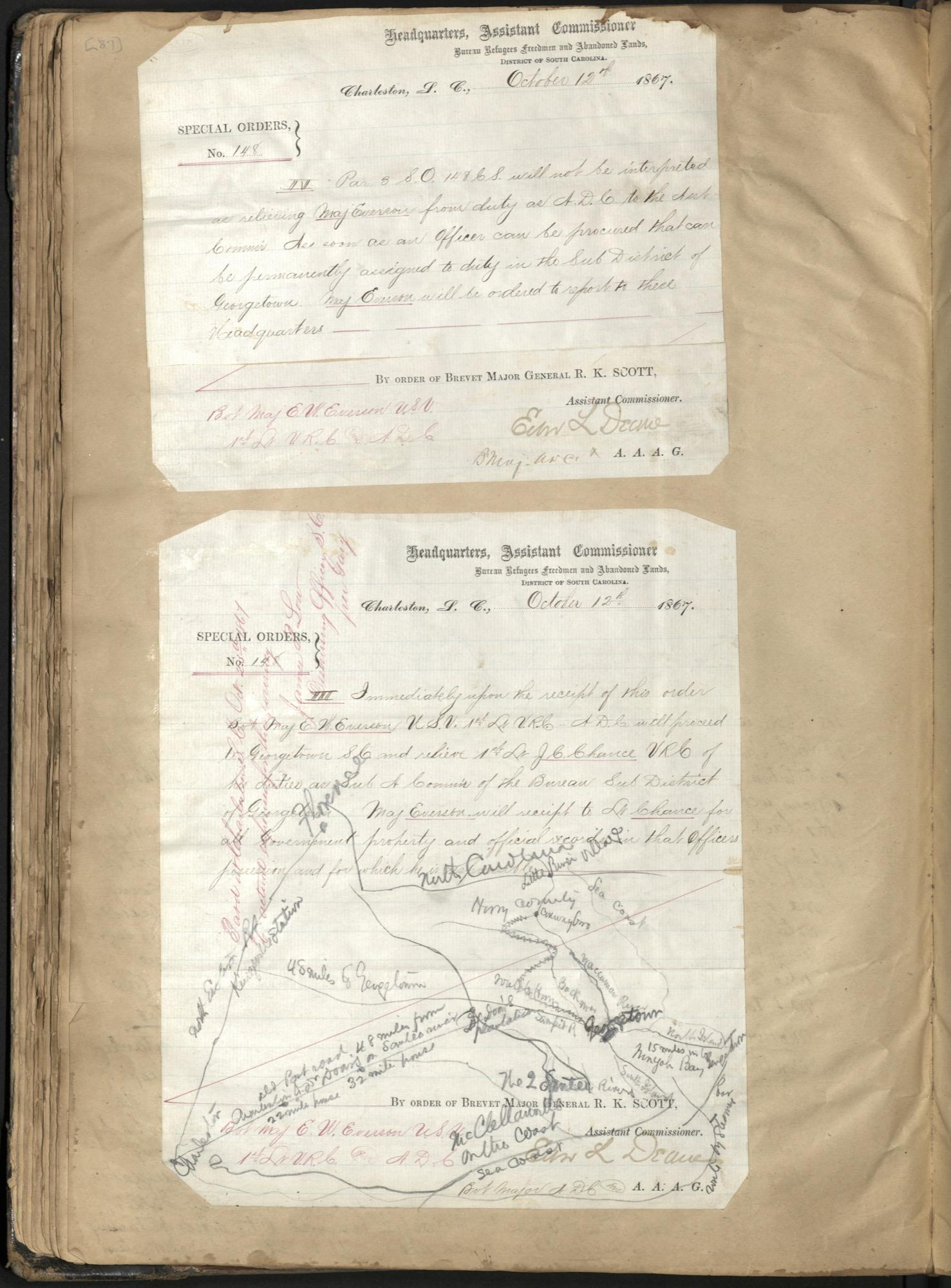 Erastus Everson Diary 1861-1893, page 86