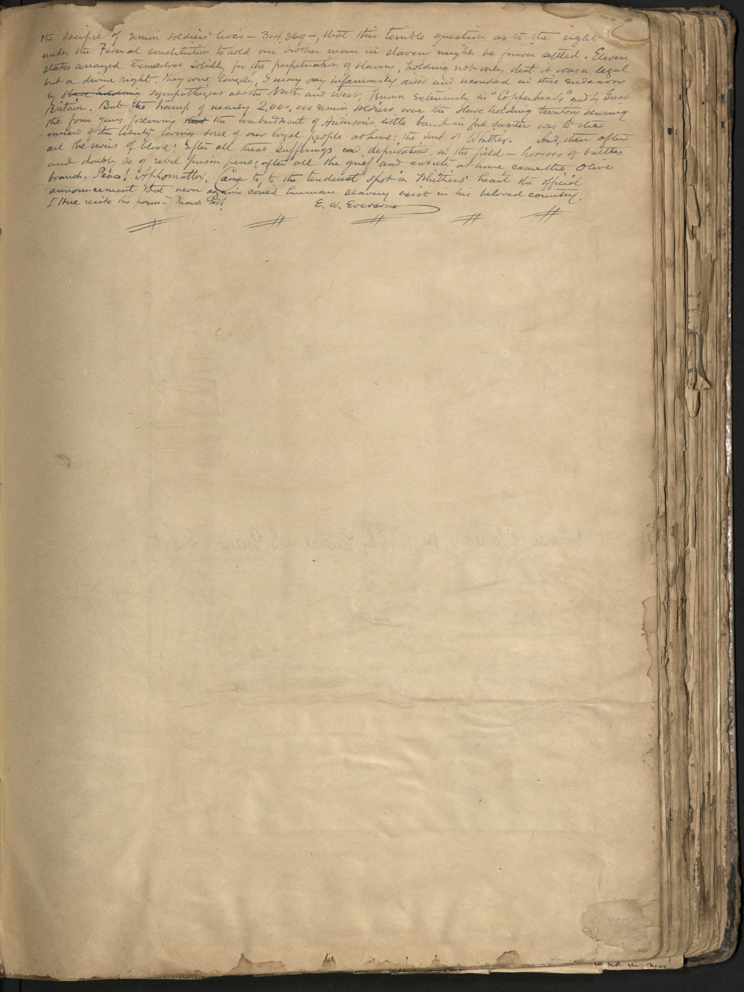 Erastus Everson Diary 1861-1893, page 93