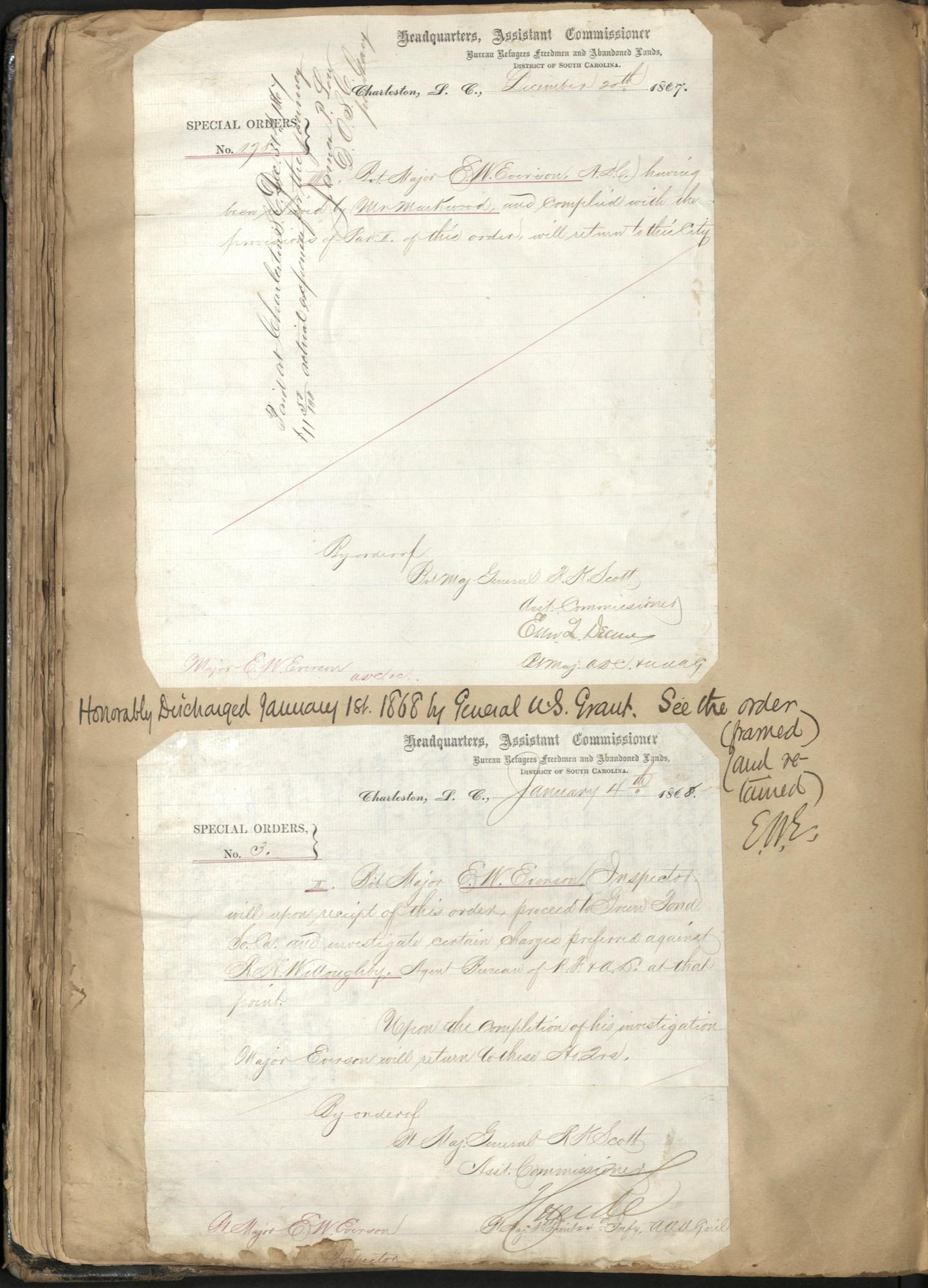 Erastus Everson Diary 1861-1893, page 94