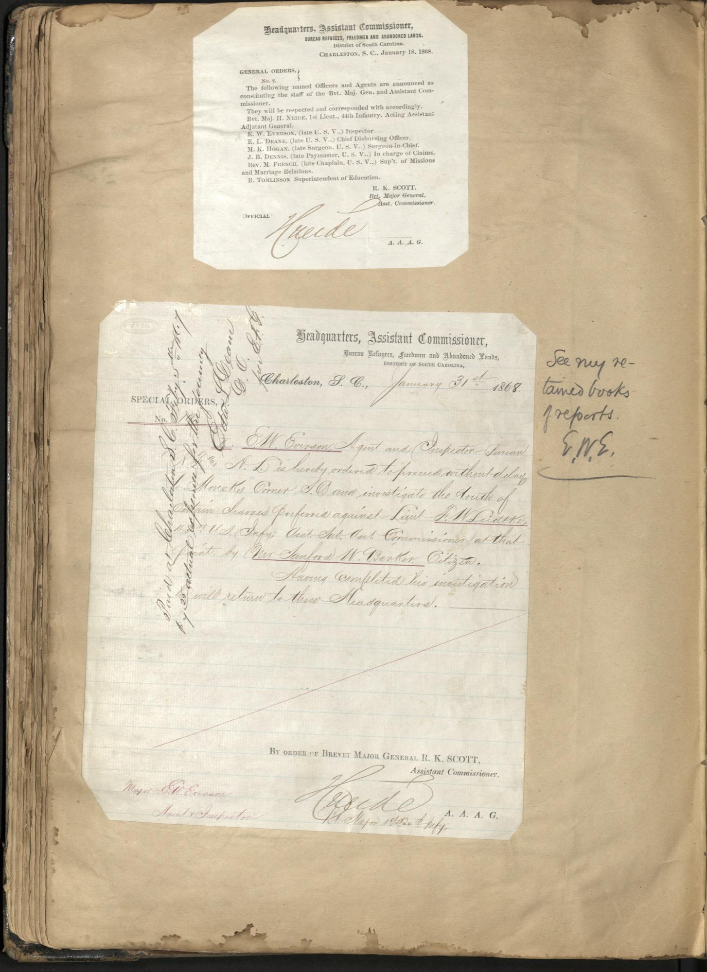 Erastus Everson Diary 1861-1893, page 96