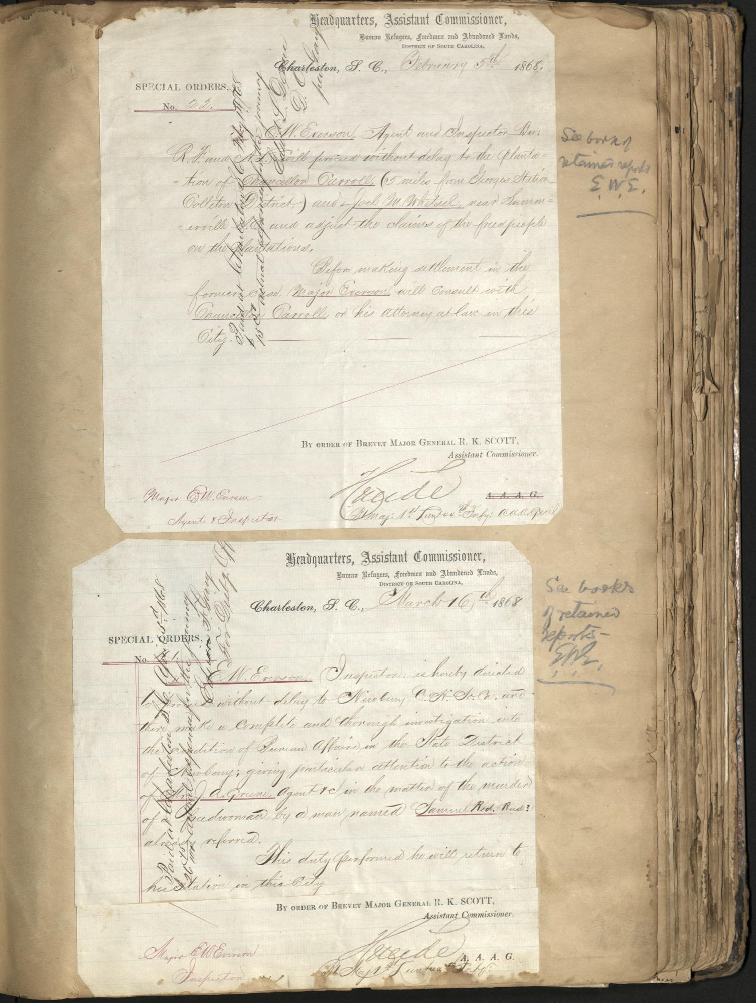 Erastus Everson Diary 1861-1893, page 97