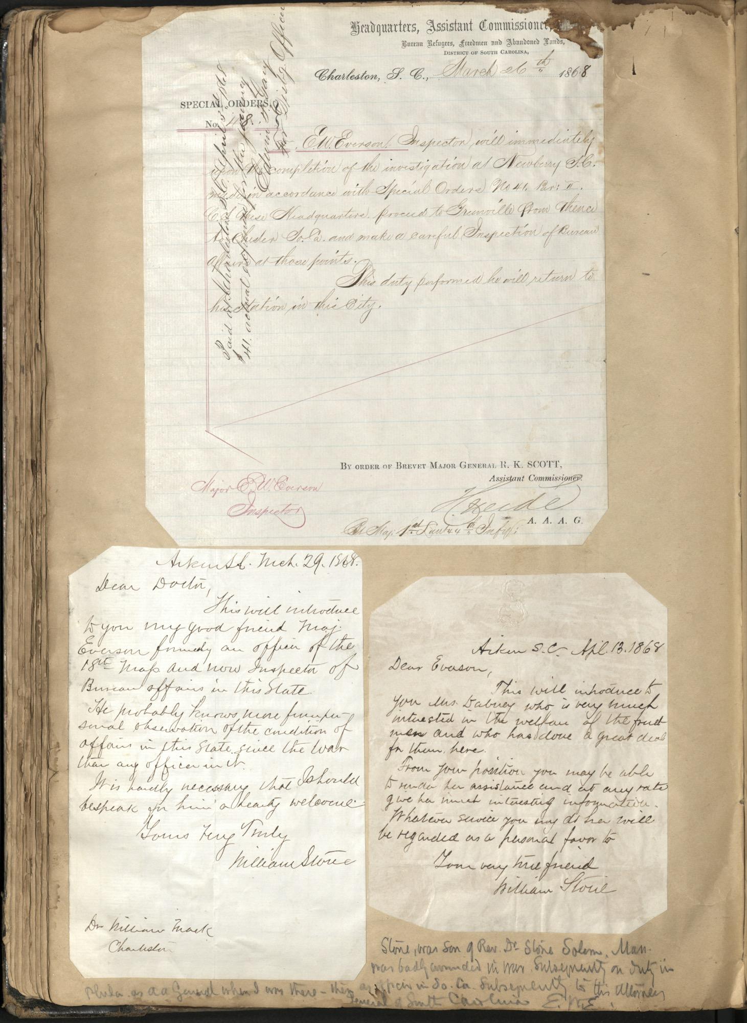 Erastus Everson Diary 1861-1893, page 98