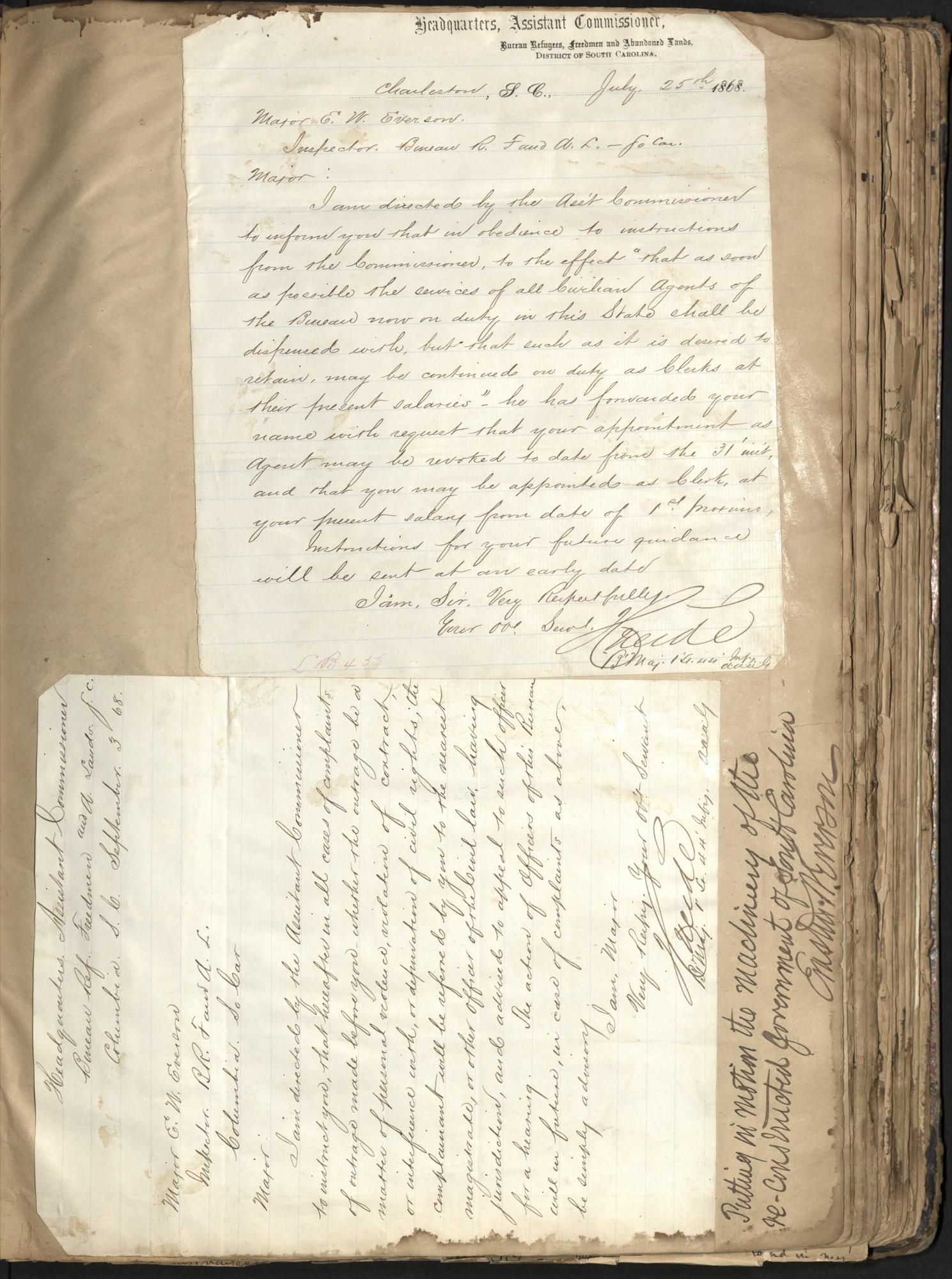 Erastus Everson Diary 1861-1893, page 101