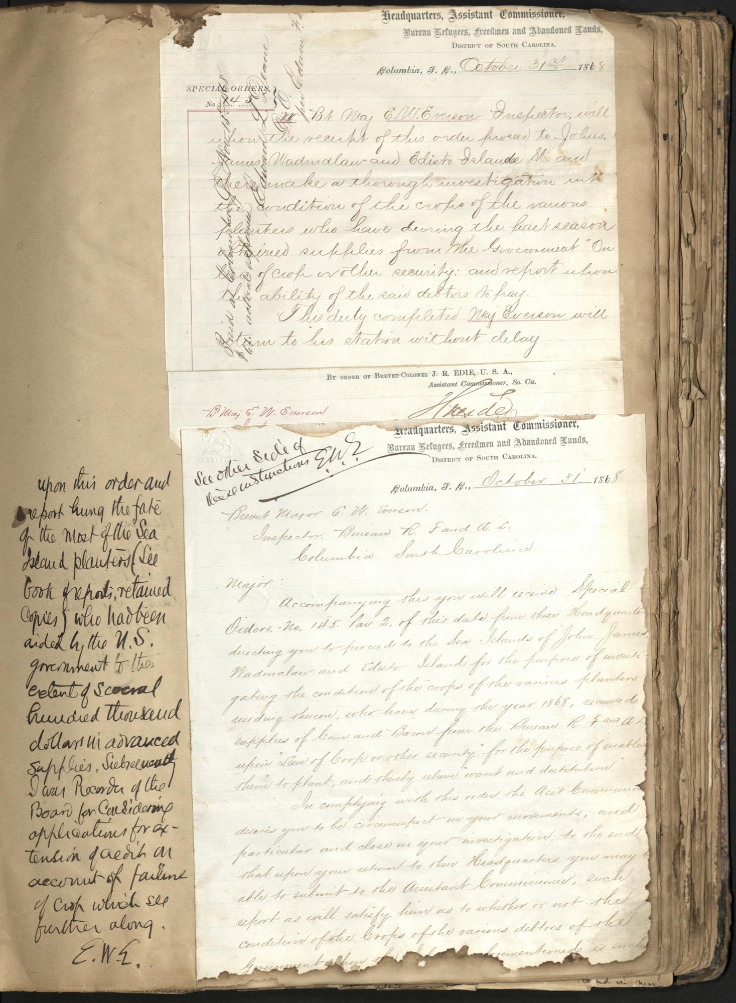 Erastus Everson Diary 1861-1893, page 103