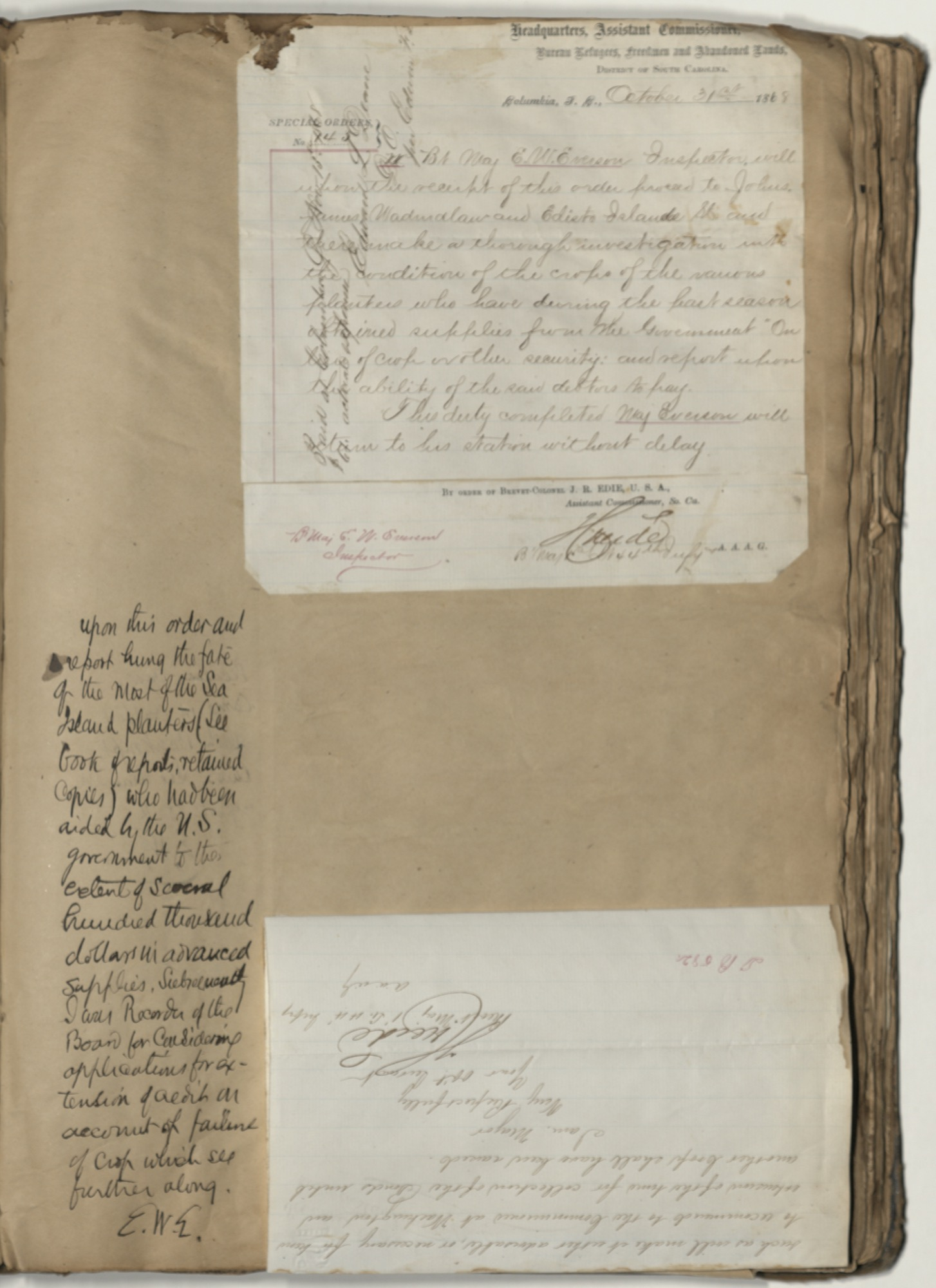 Erastus Everson Diary 1861-1893, page 104