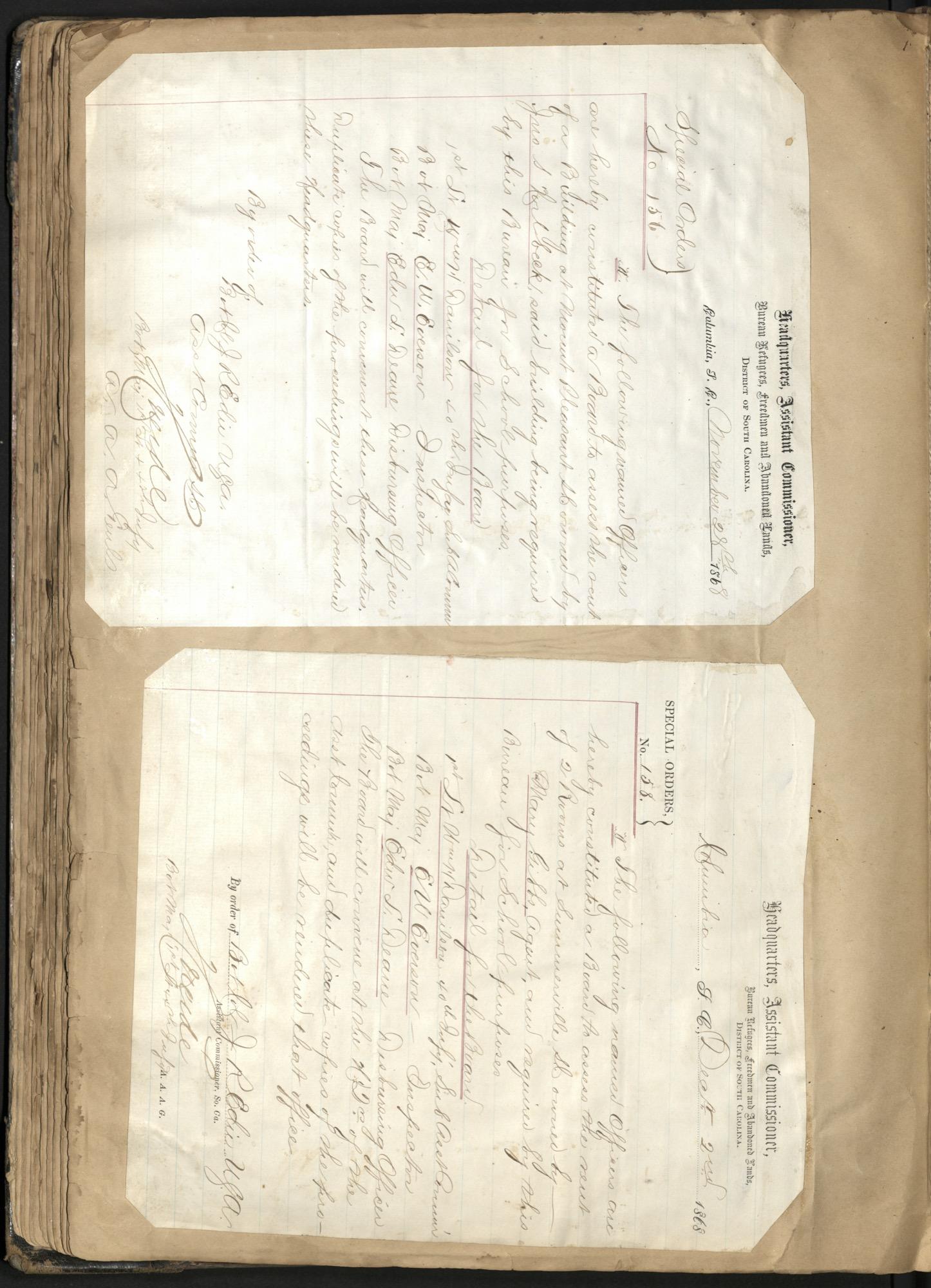 Erastus Everson Diary 1861-1893, page 107