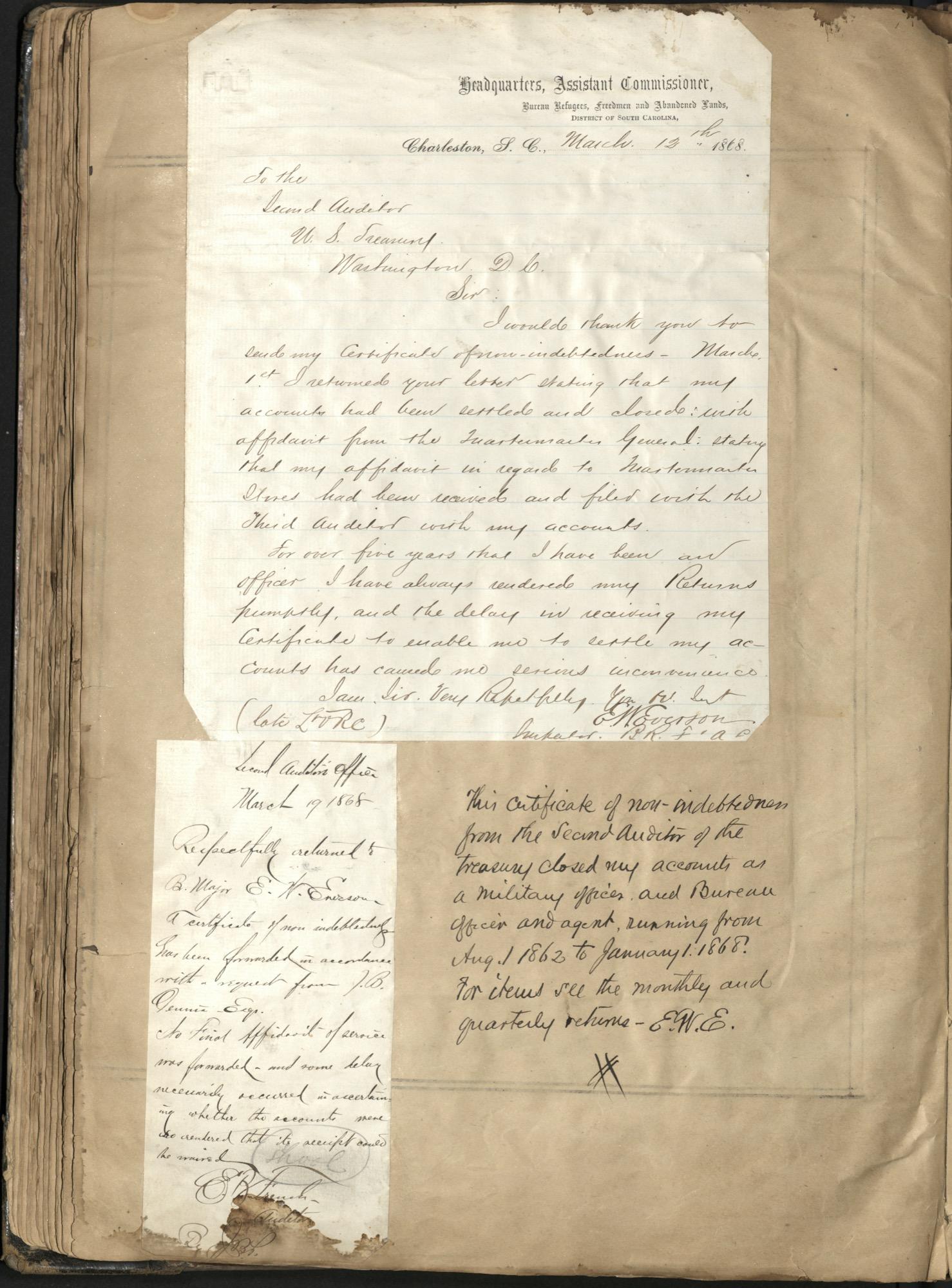 Erastus Everson Diary 1861-1893, page 116