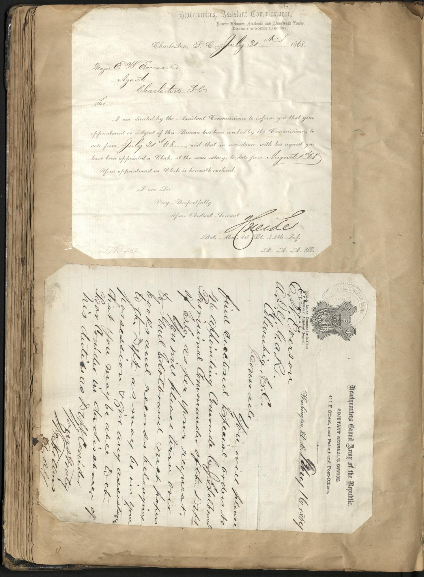Erastus Everson Diary 1861-1893, page 118