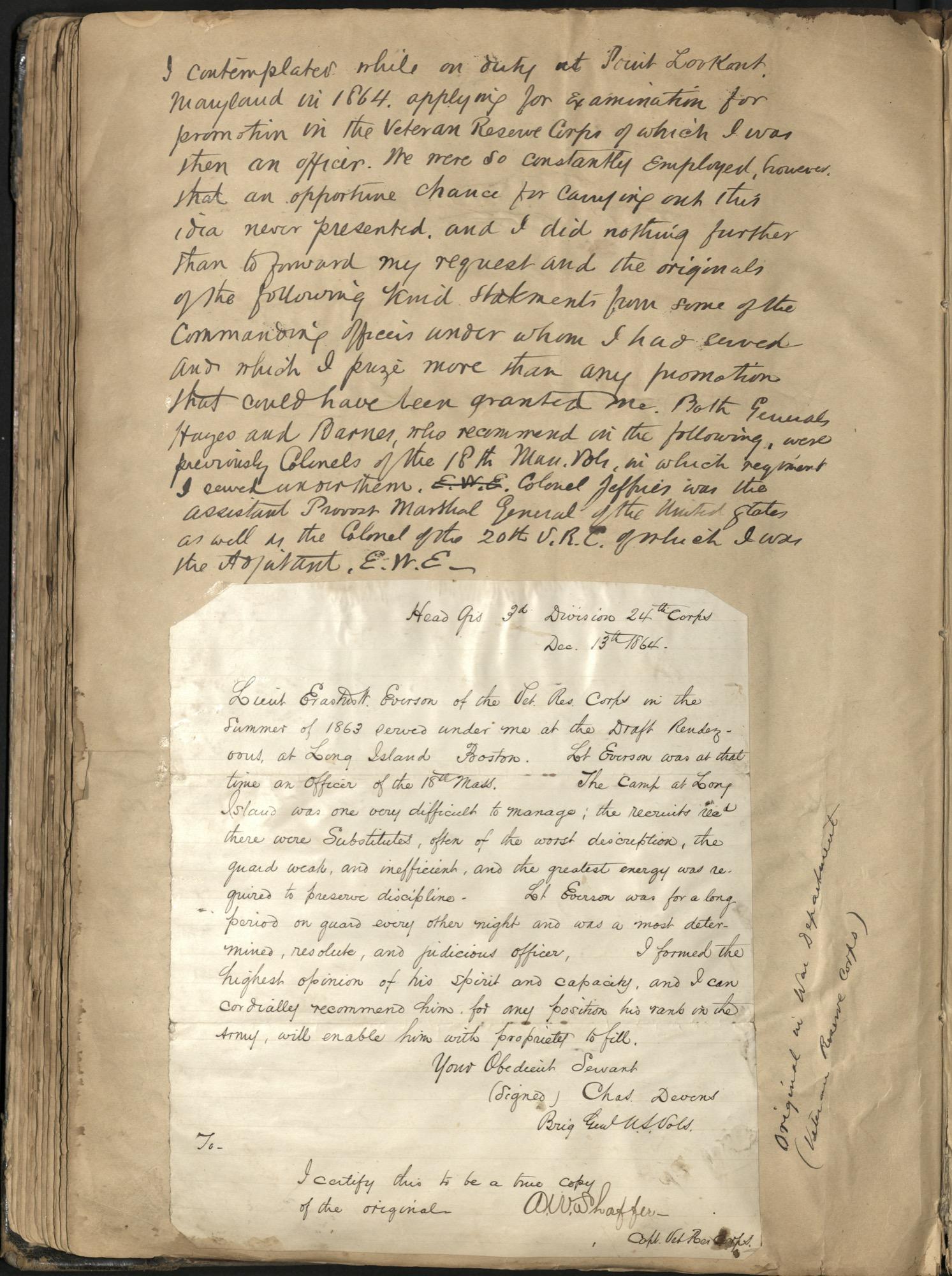 Erastus Everson Diary 1861-1893, page 125