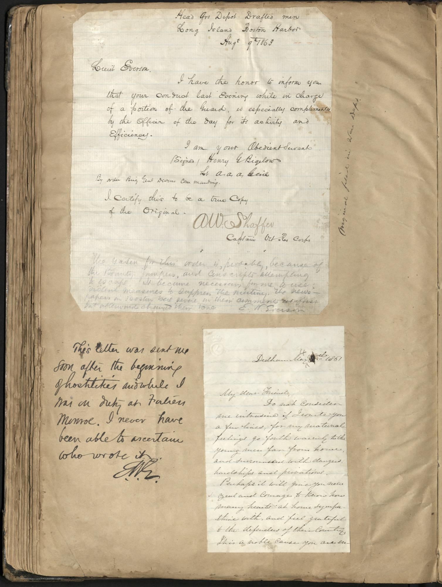 Erastus Everson Diary 1861-1893, page 129