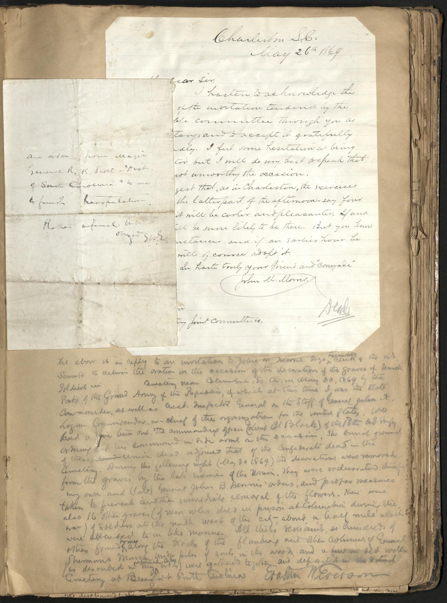 Erastus Everson Diary 1861-1893, page 133