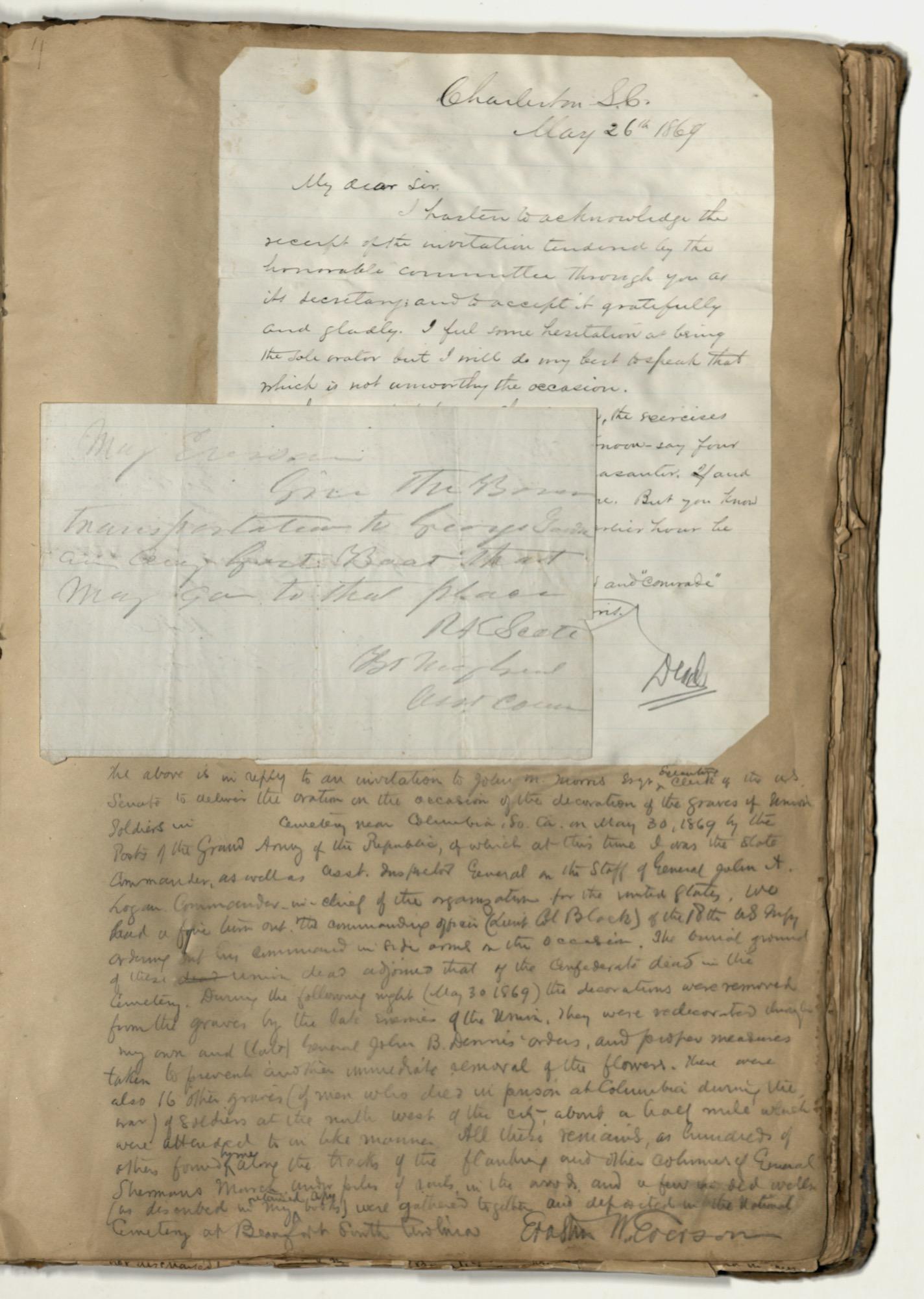 Erastus Everson Diary 1861-1893, page 134