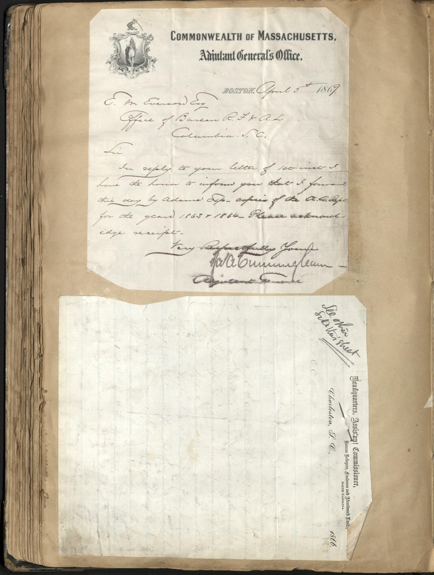 Erastus Everson Diary 1861-1893, page 135