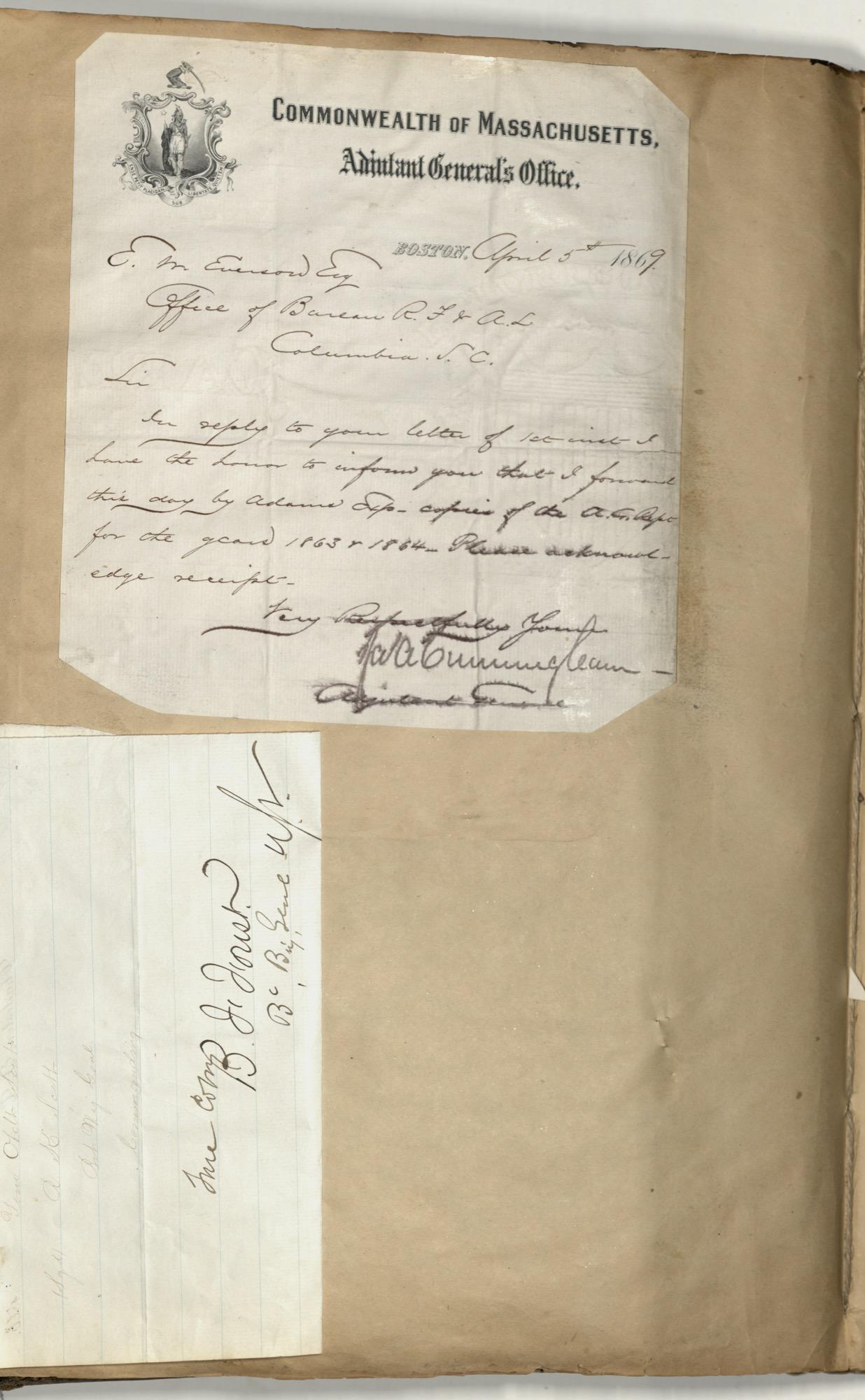 Erastus Everson Diary 1861-1893, page 136