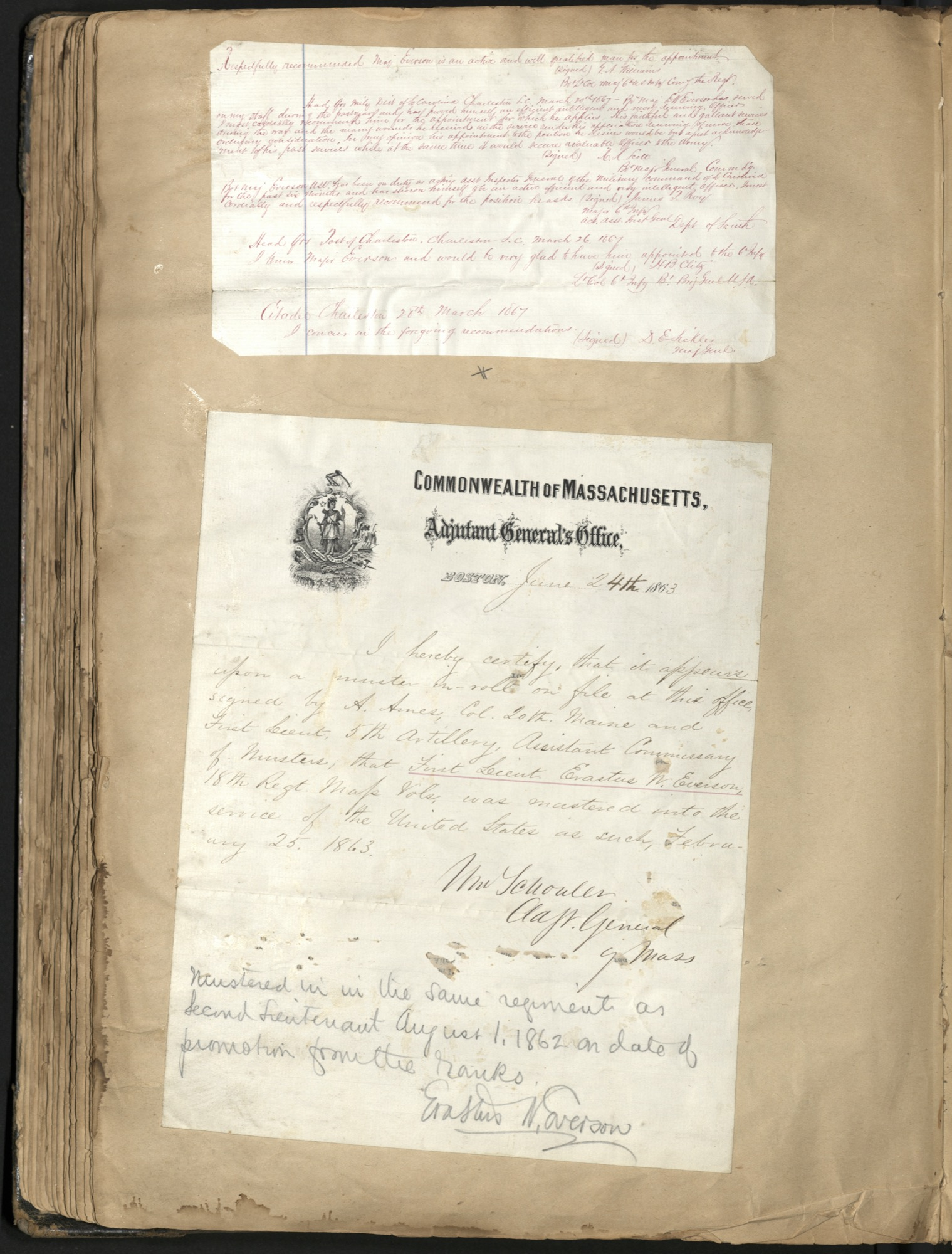 Erastus Everson Diary 1861-1893, page 138