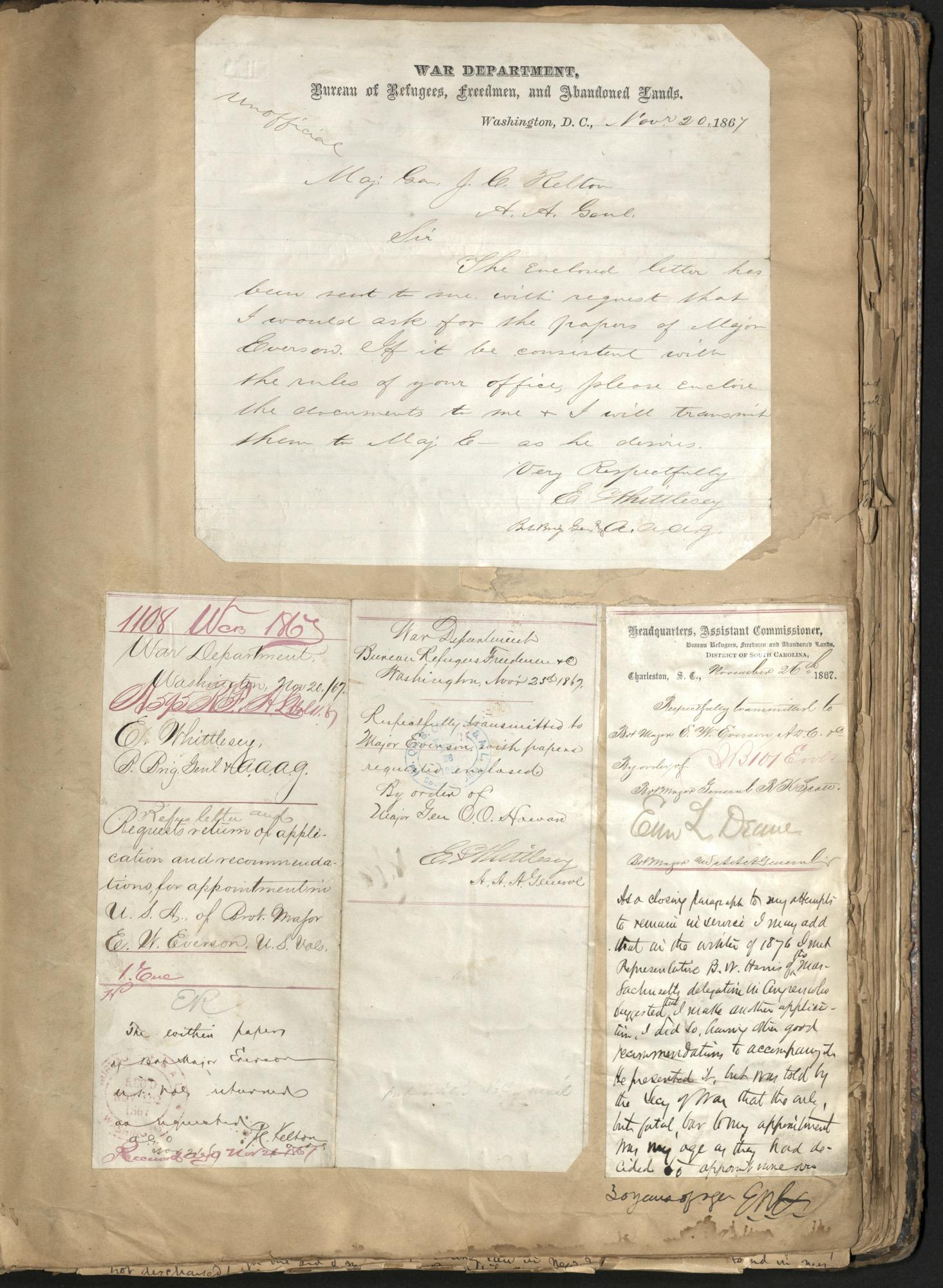 Erastus Everson Diary 1861-1893, page 139