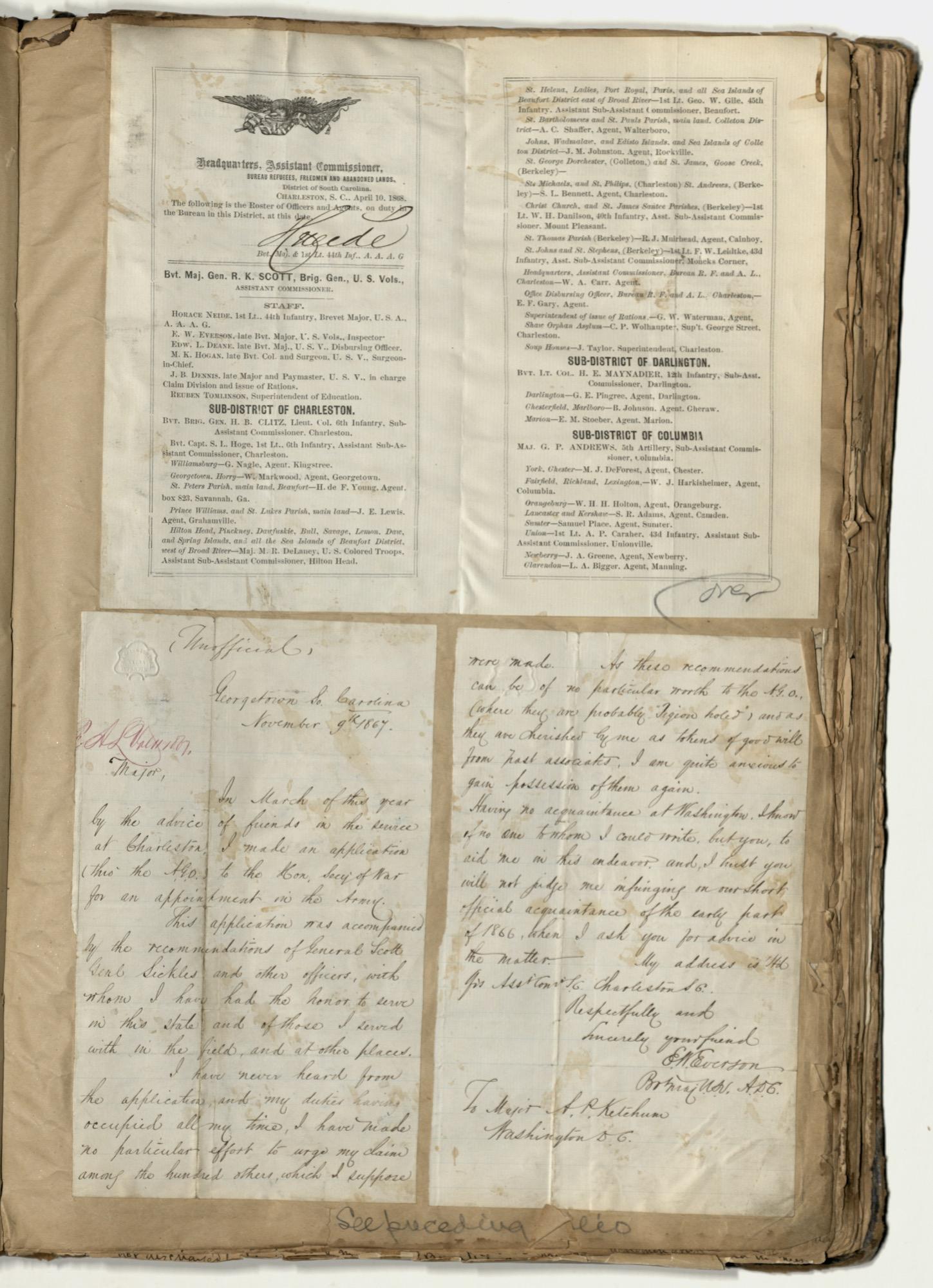 Erastus Everson Diary 1861-1893, page 141