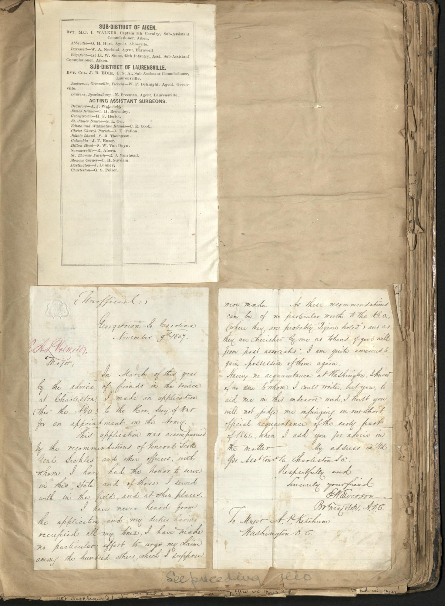 Erastus Everson Diary 1861-1893, page 142