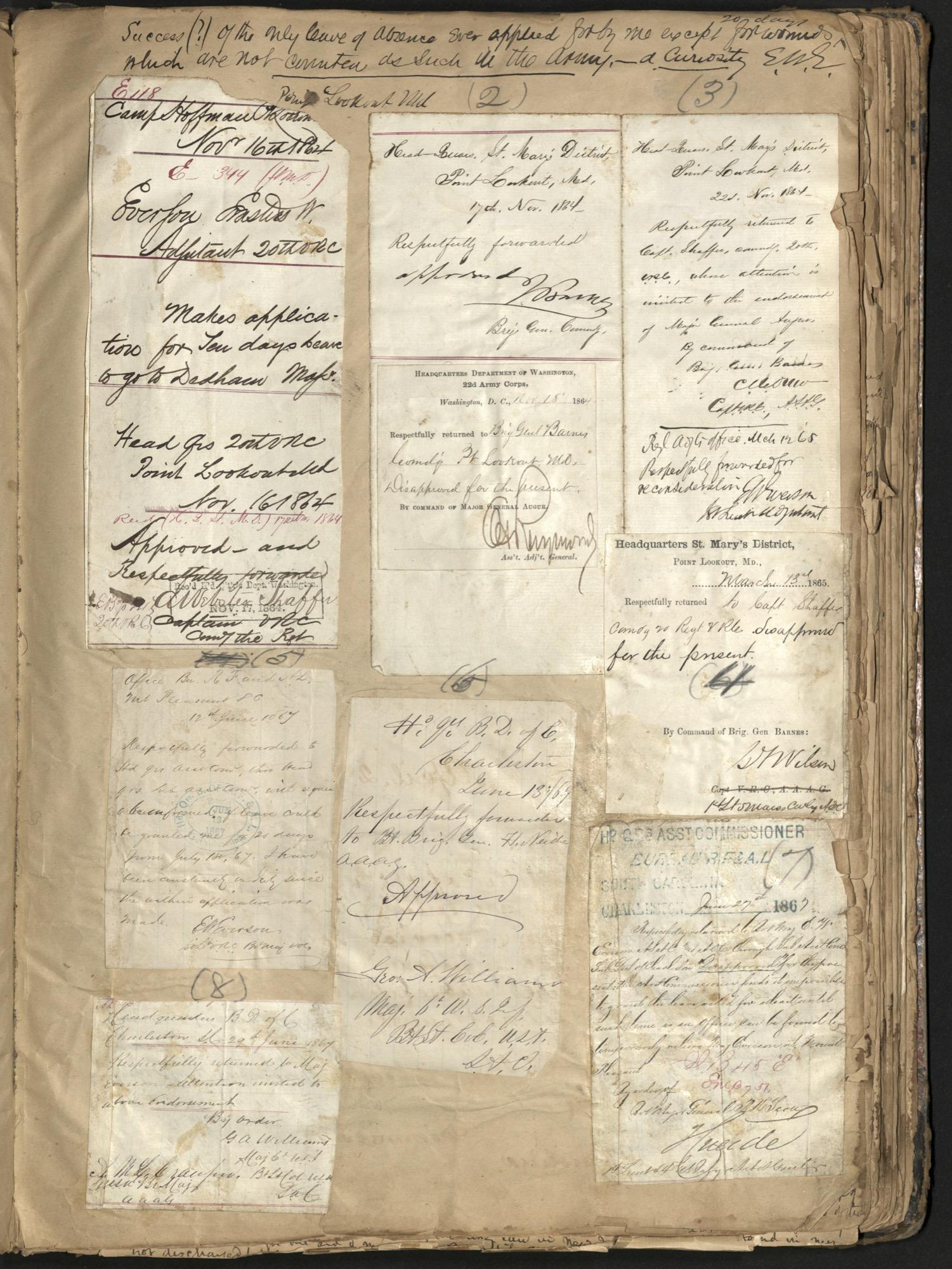 Erastus Everson Diary 1861-1893, page 145
