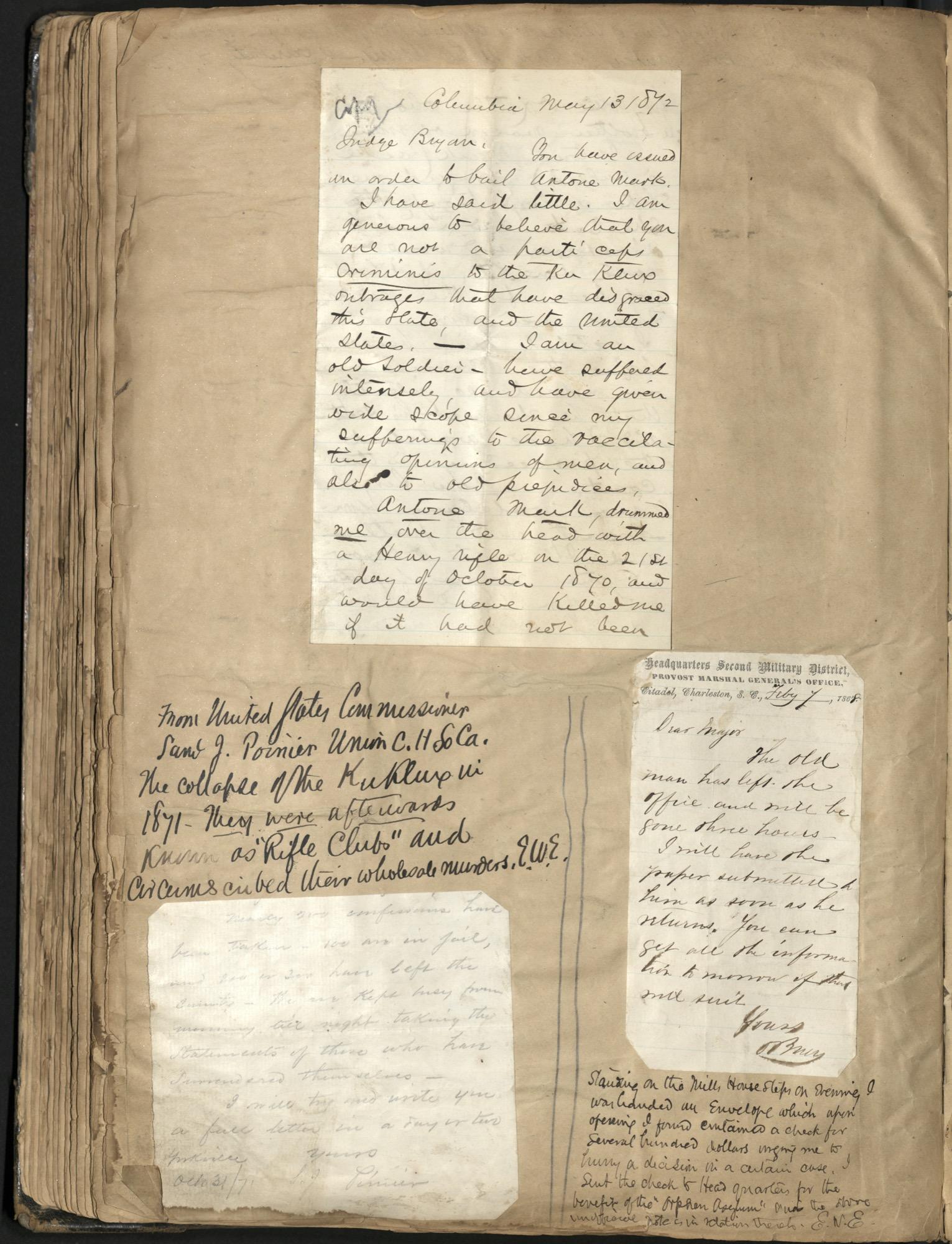 Erastus Everson Diary 1861-1893, page 146