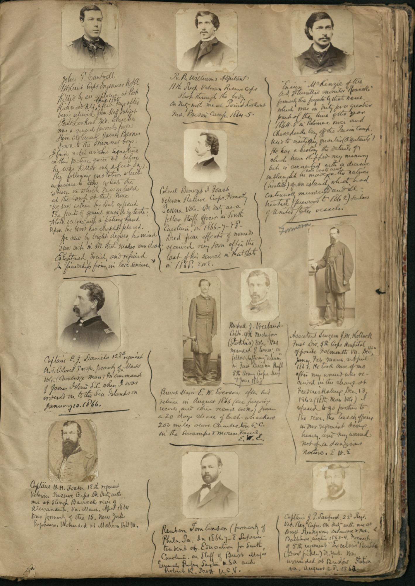 Erastus Everson Diary 1861-1893, page 154