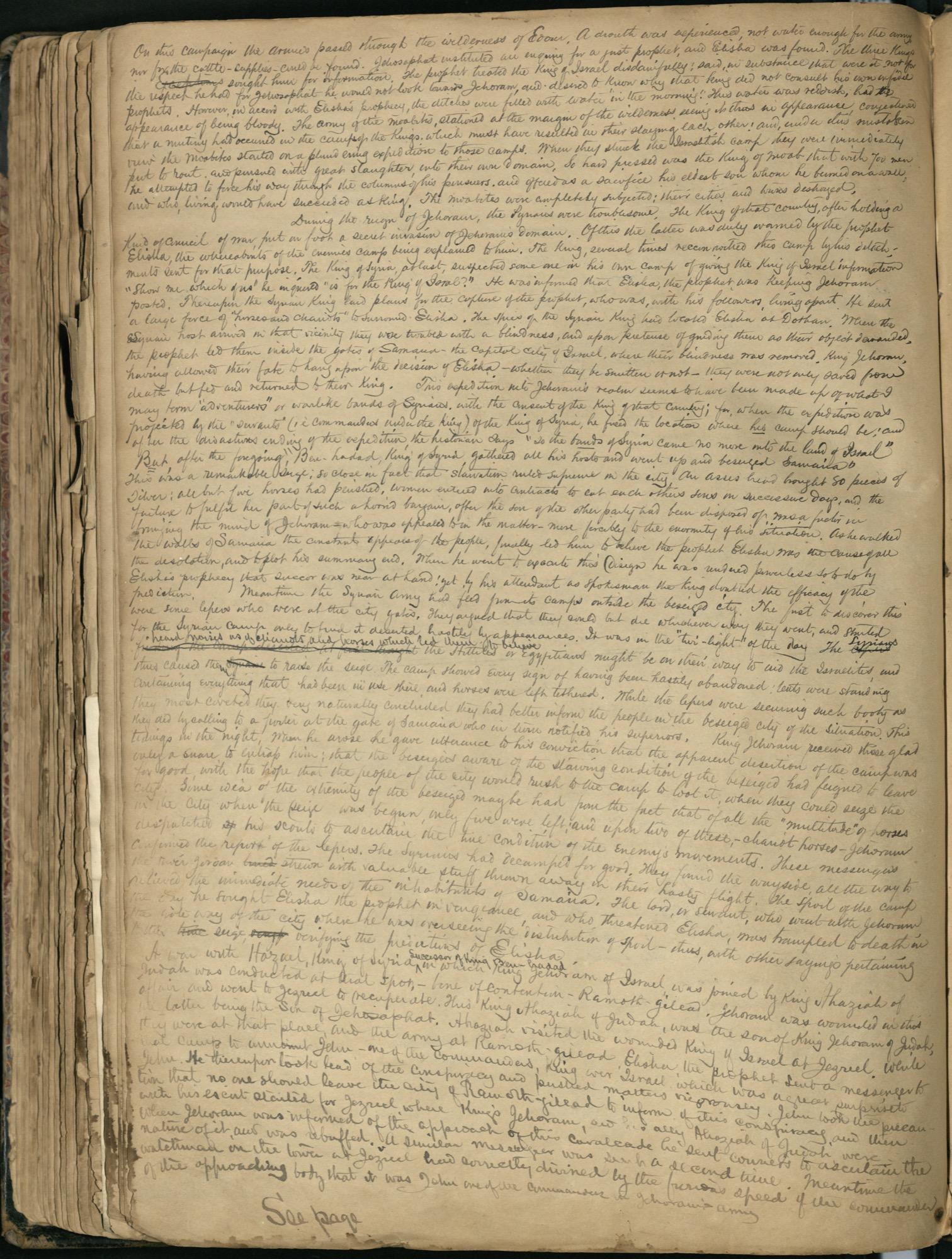 Erastus Everson Diary 1861-1893, page 175