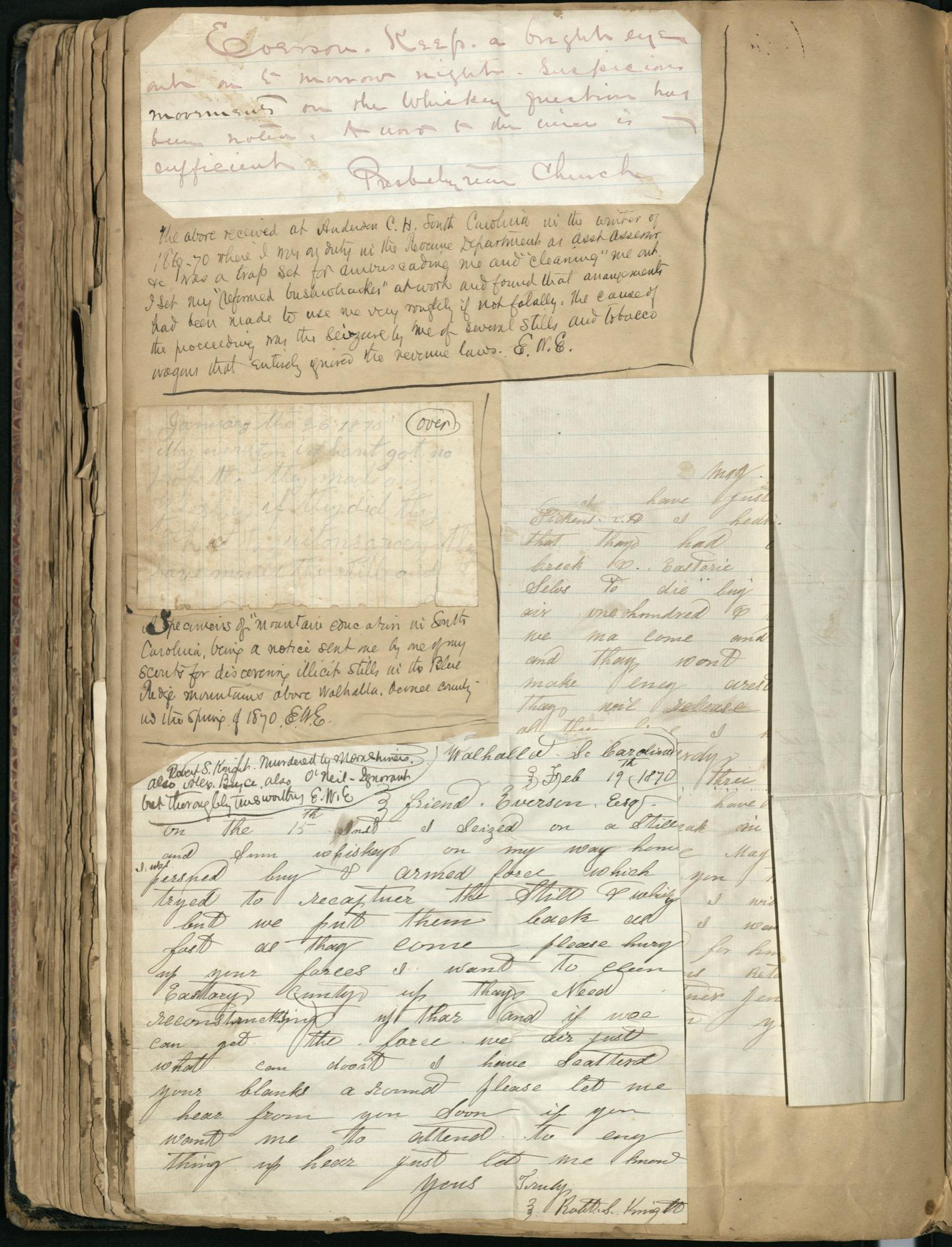 Erastus Everson Diary 1861-1893, page 178
