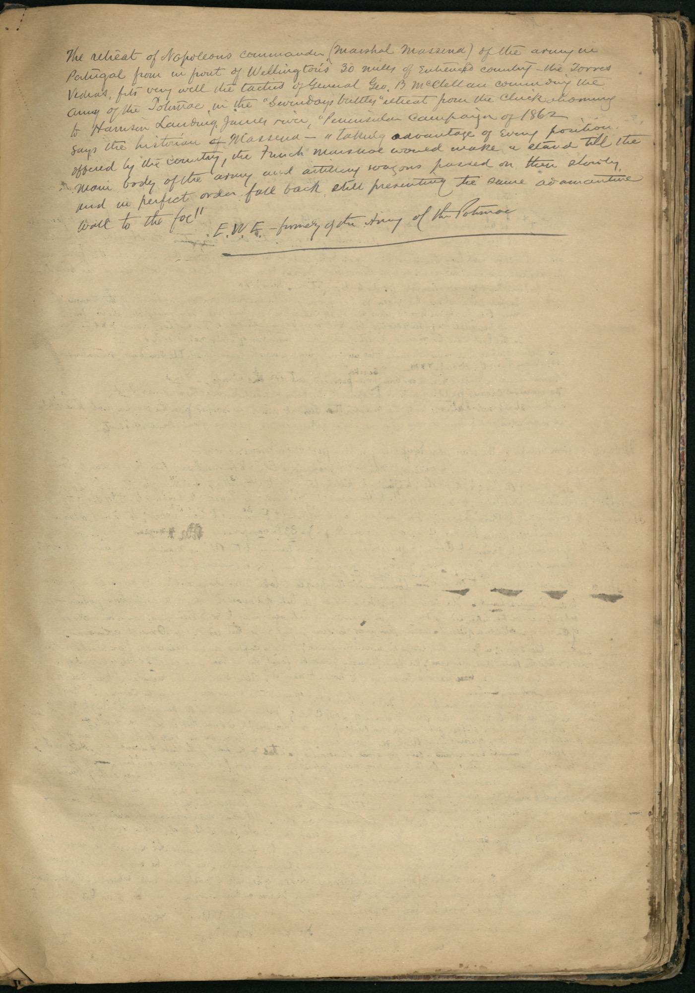 Erastus Everson Diary 1861-1893, page 184