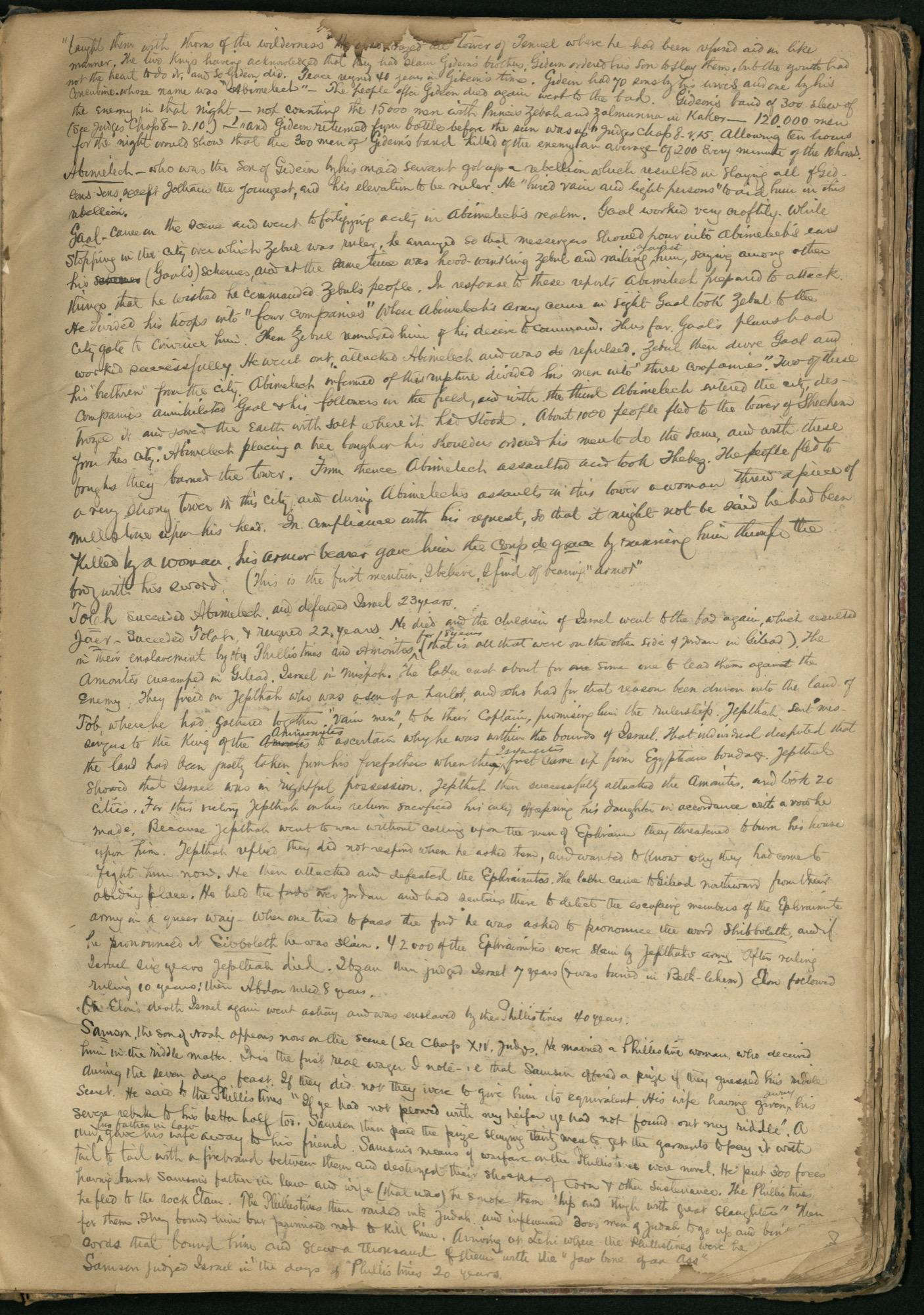 Erastus Everson Diary 1861-1893, page 188