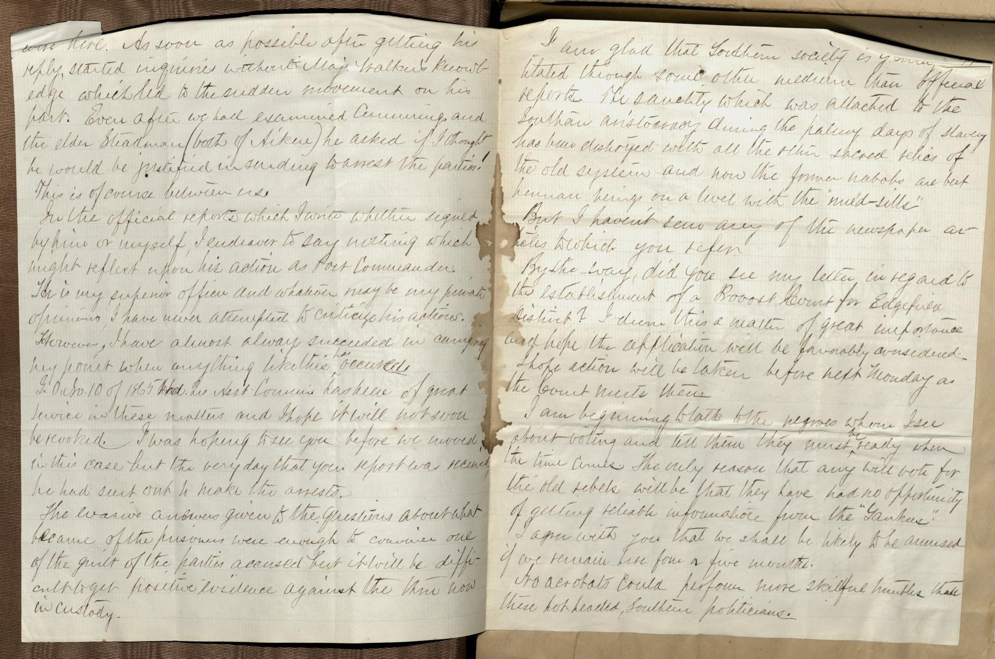 Erastus Everson Diary 1861-1893, page 213