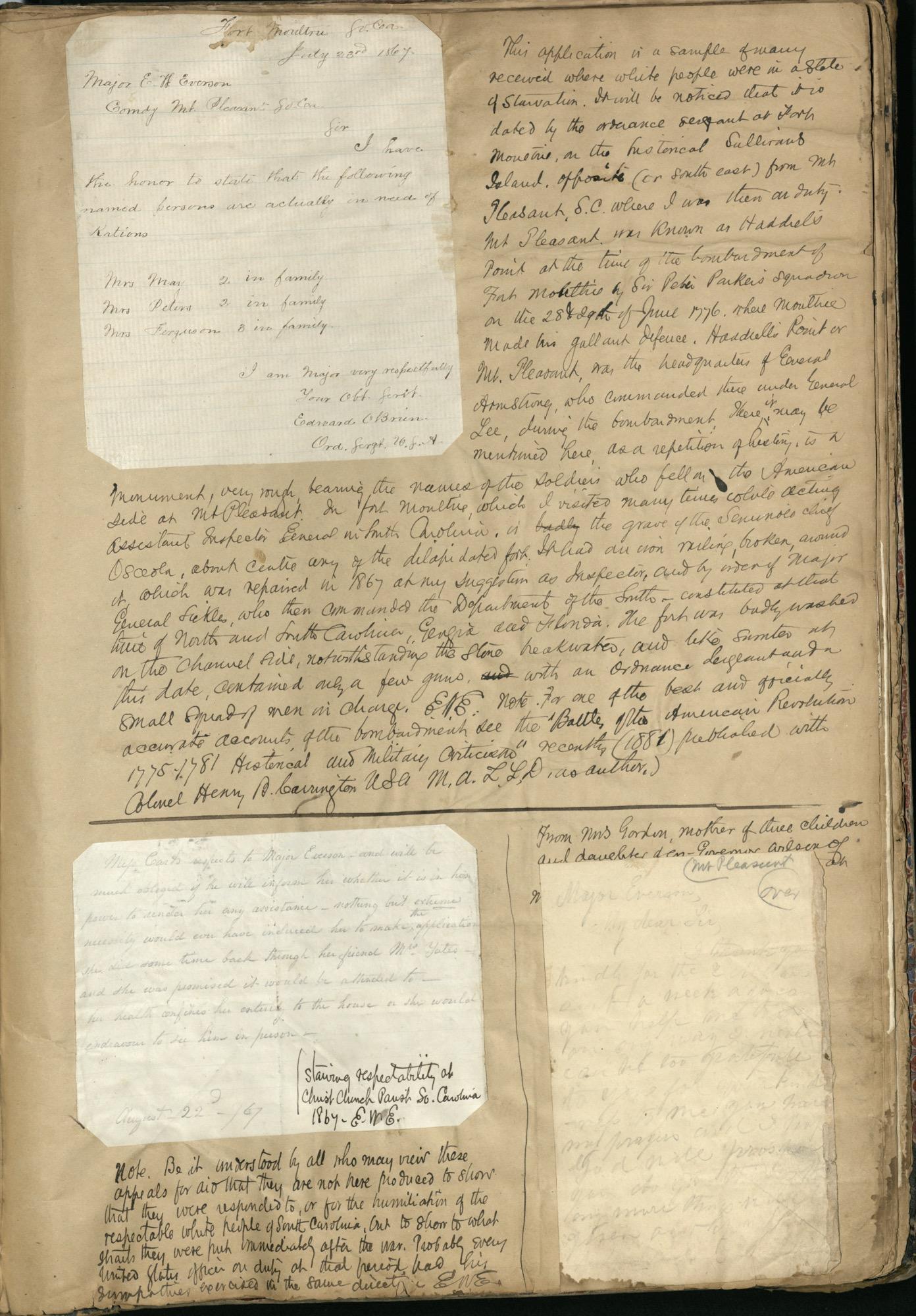 Erastus Everson Diary 1861-1893, page 233