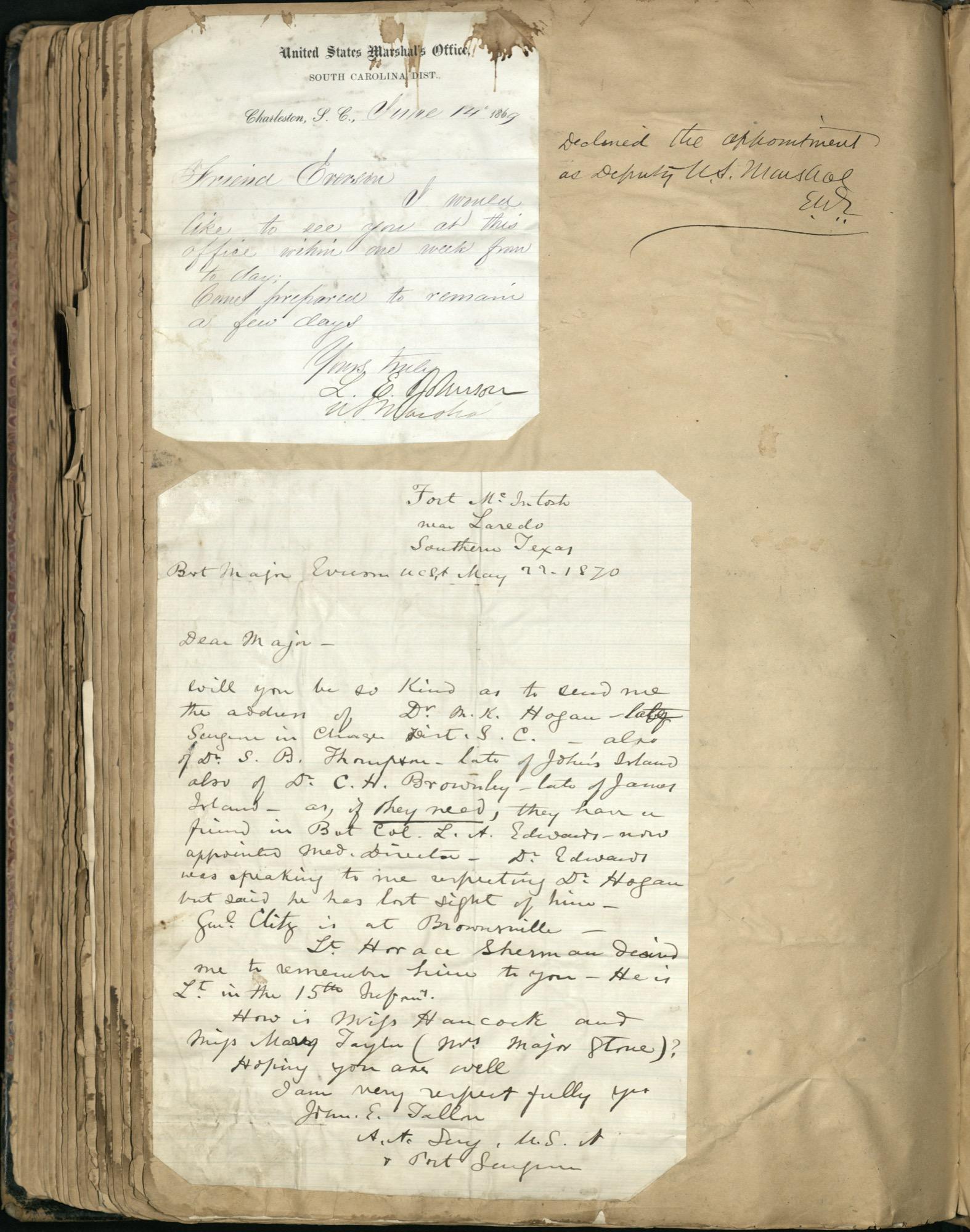 Erastus Everson Diary 1861-1893, page 234