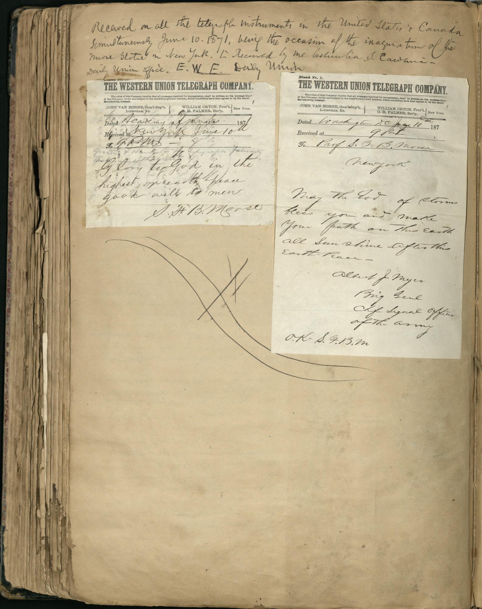 Erastus Everson Diary 1861-1893, page 244