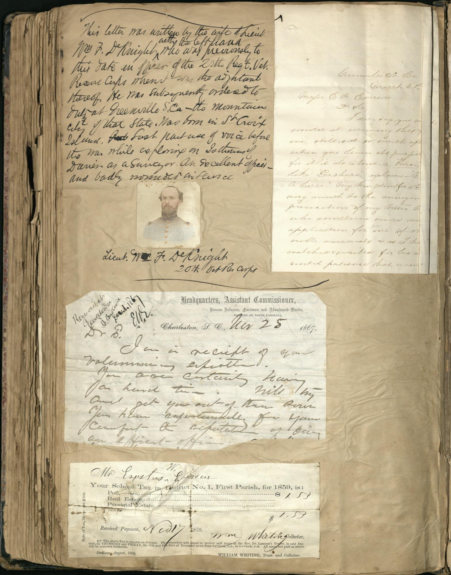 Erastus Everson Diary 1861-1893, page 250