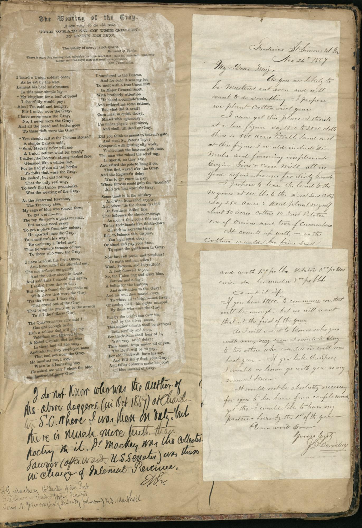 Erastus Everson Diary 1861-1893, page 251