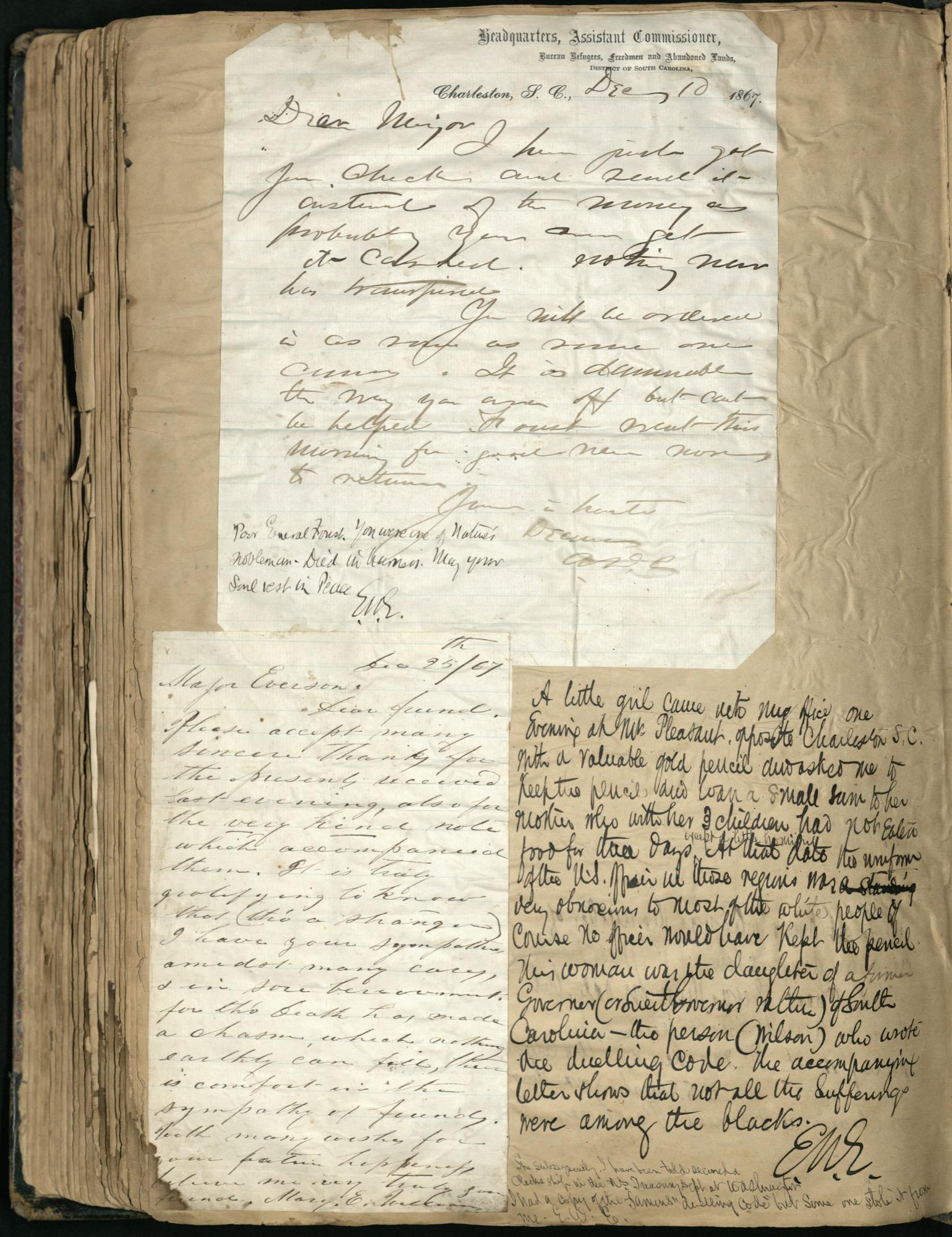 Erastus Everson Diary 1861-1893, page 252