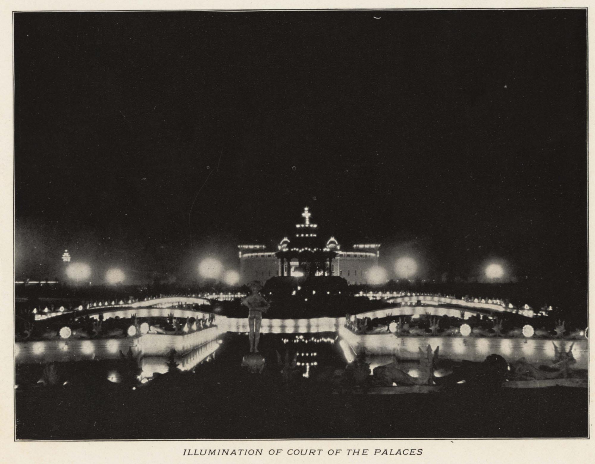 Illumination of Court of the Palaces