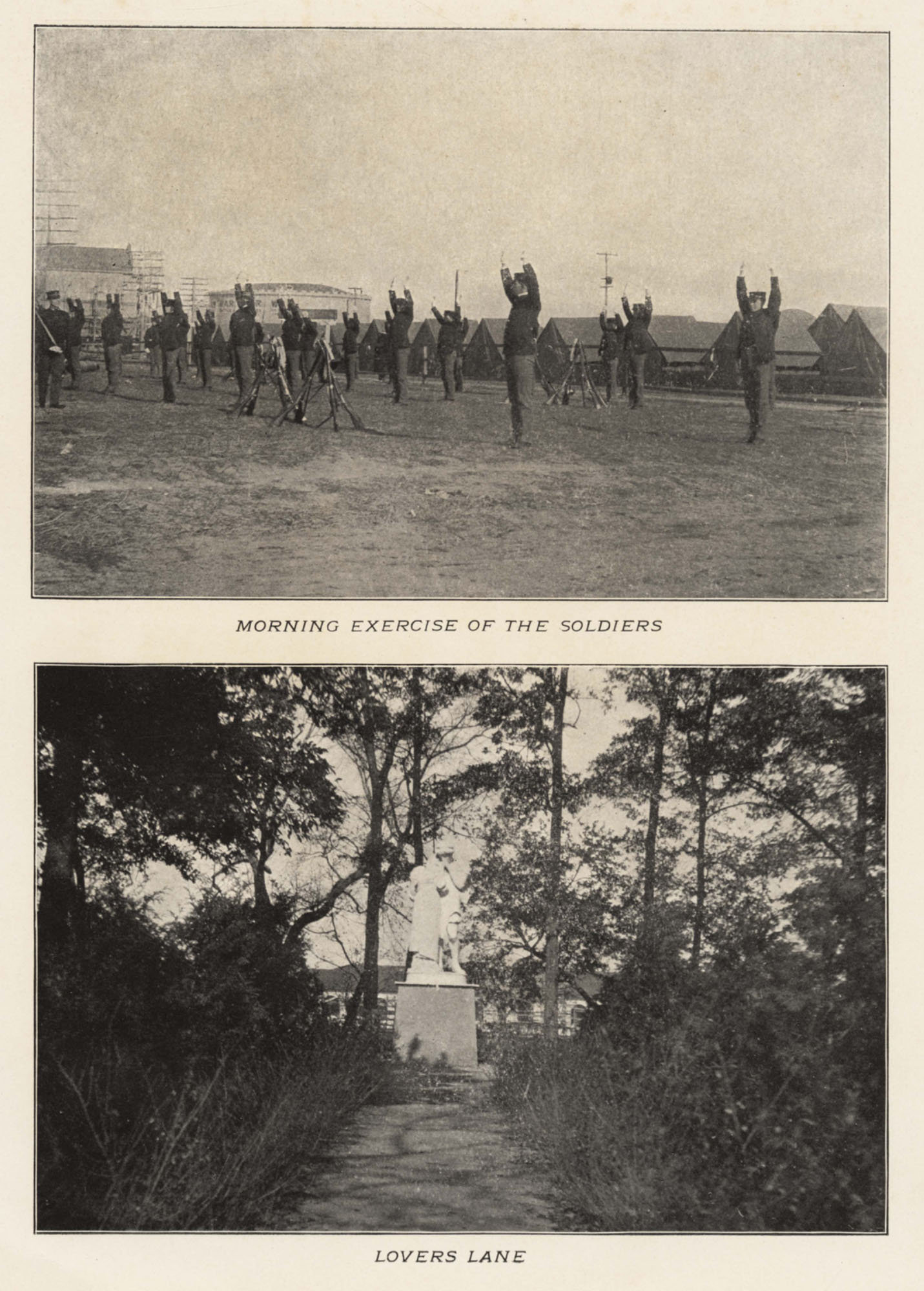 Morning Exercise of the Soldiers