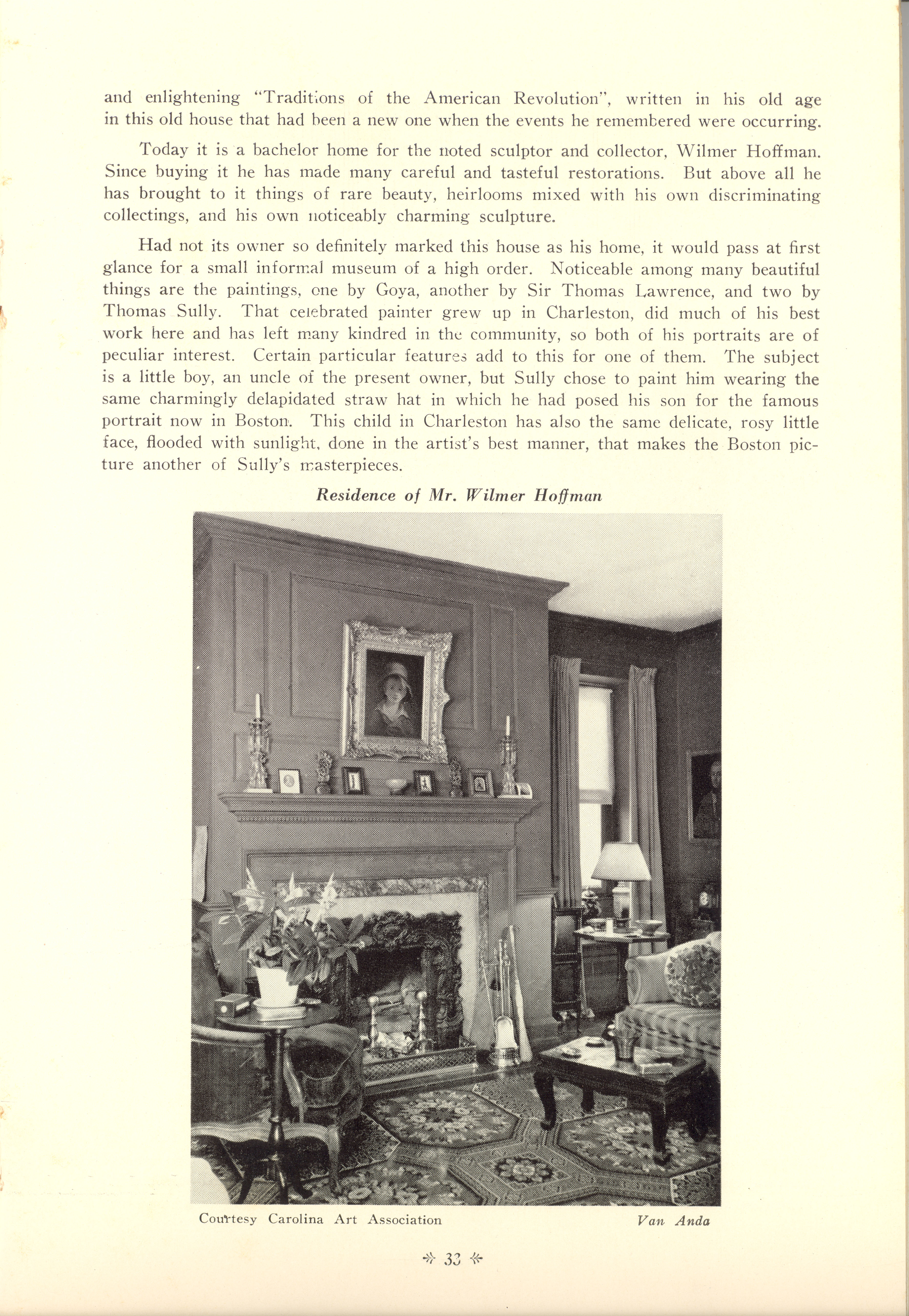 Page 33:  No. 11 - Young-Johnson House, 35 Church Street, c. 1780, cont'd