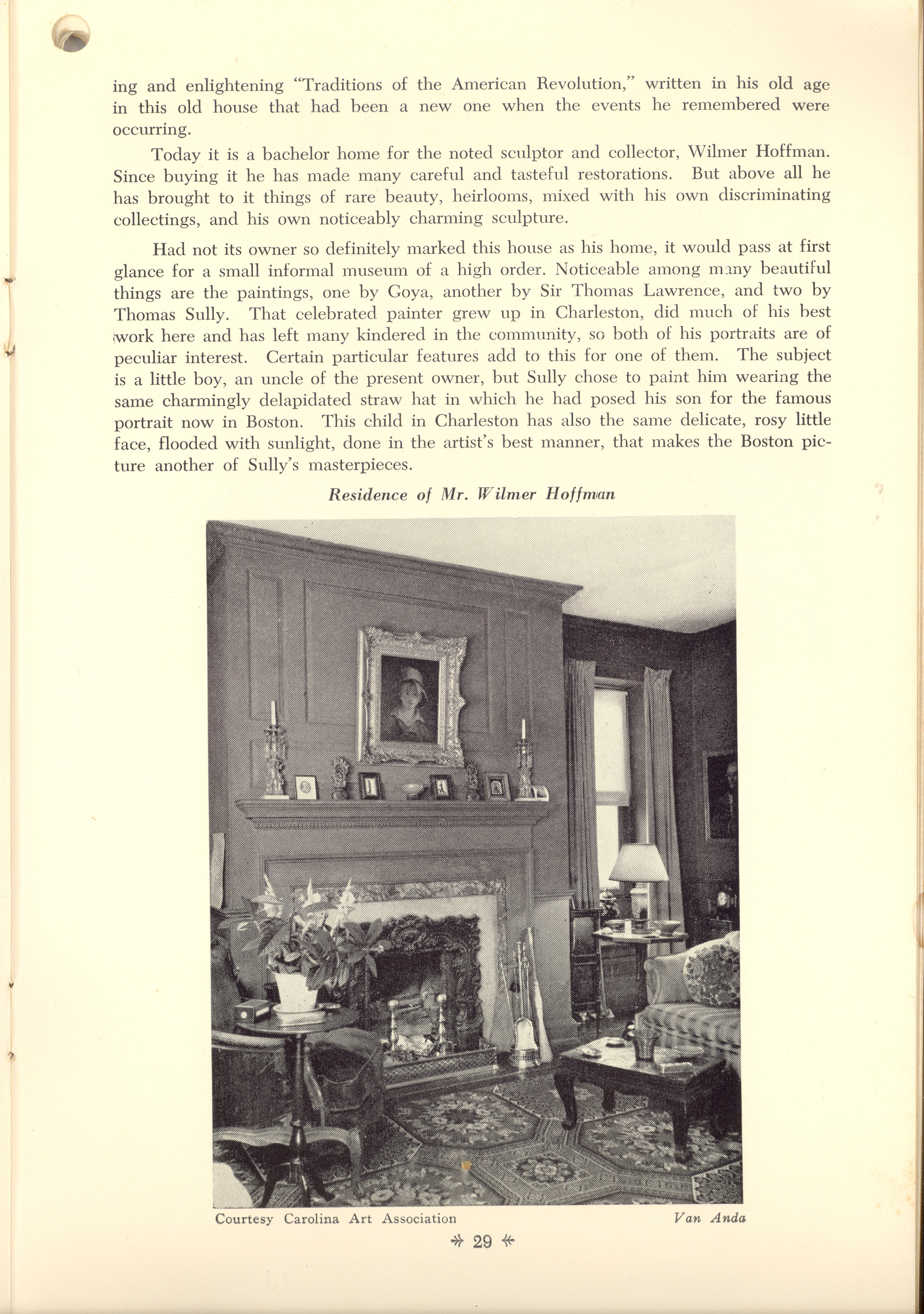 Page 29:  No. 9 - Young-Johnson House, 35 Church Street, c. 1780, cont'd