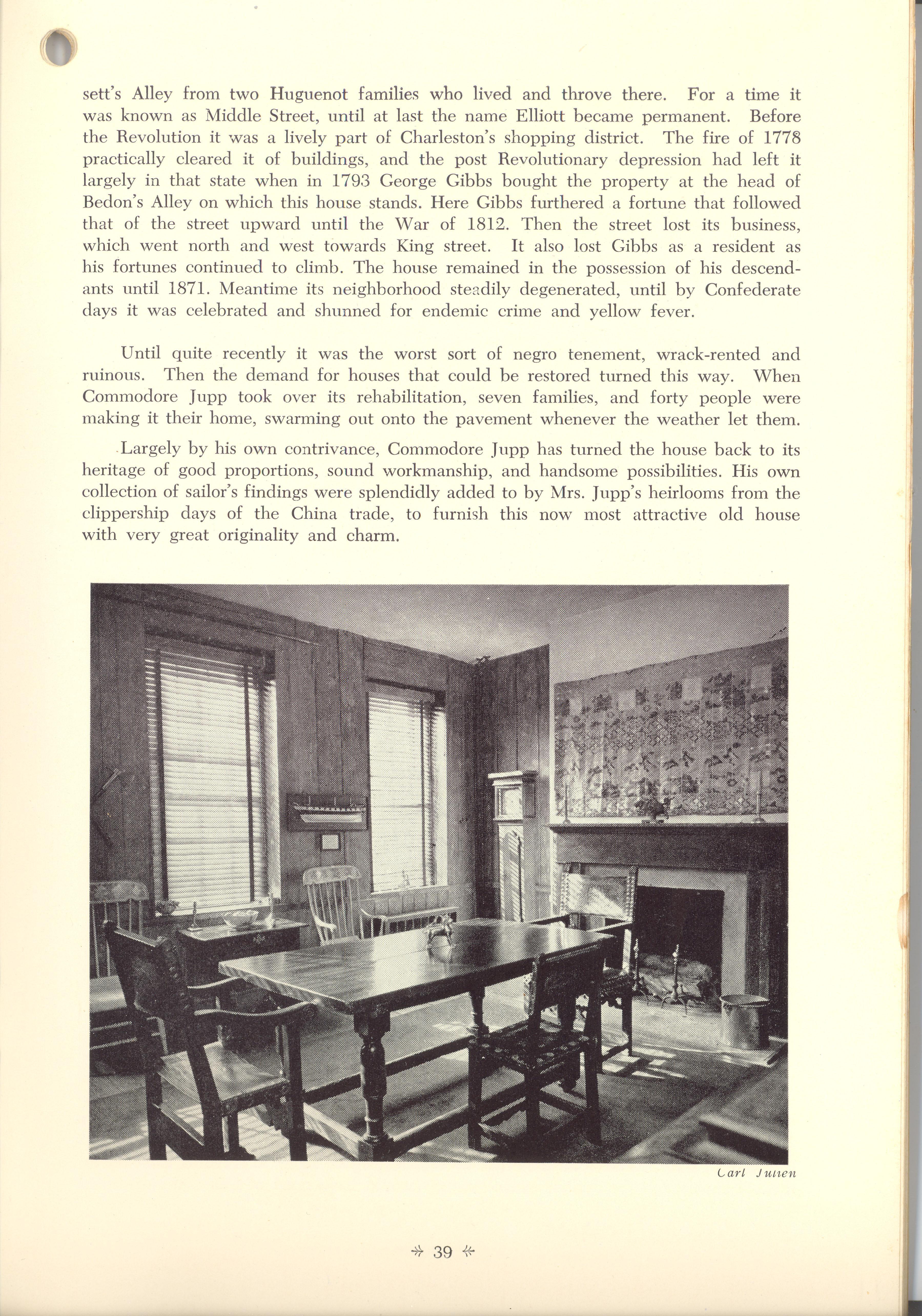 Page 39:  No. 14 - The George Gibb's House, 22 Elliott Street