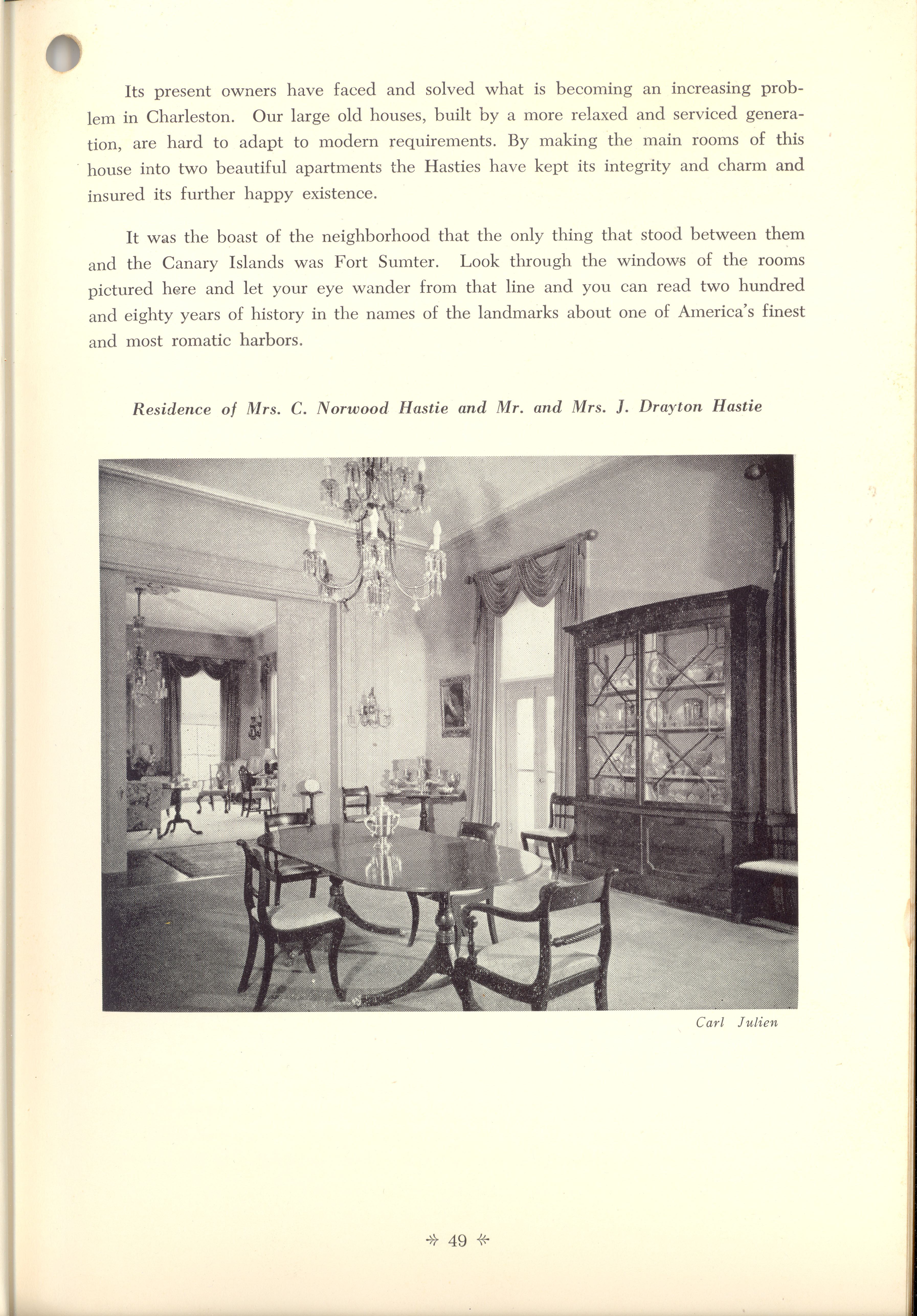 Page 49:  No. 19 - Robert William Roper's House, 9 East Battery, c. 1838